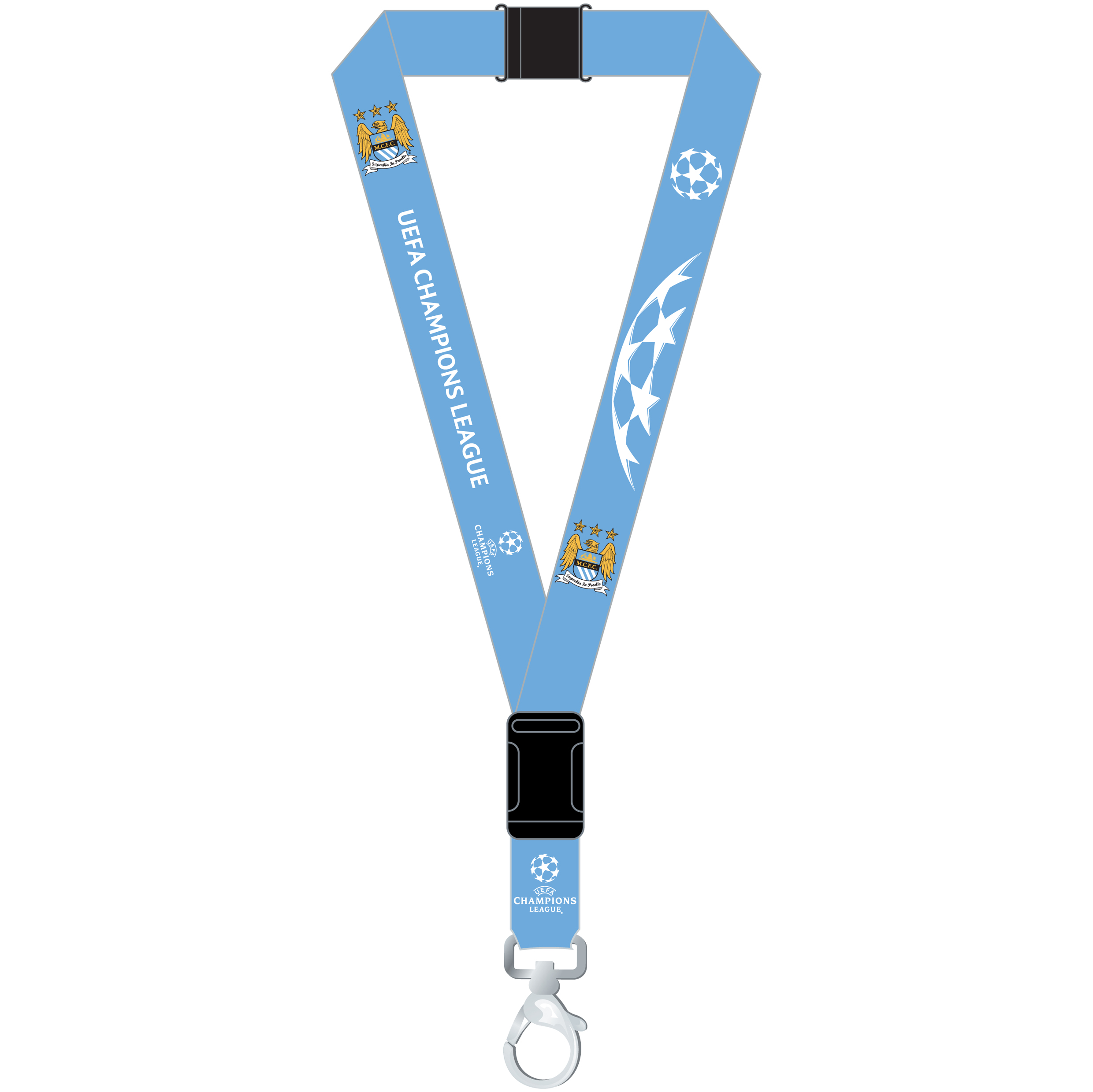 Manchester City Champions League Lanyard
