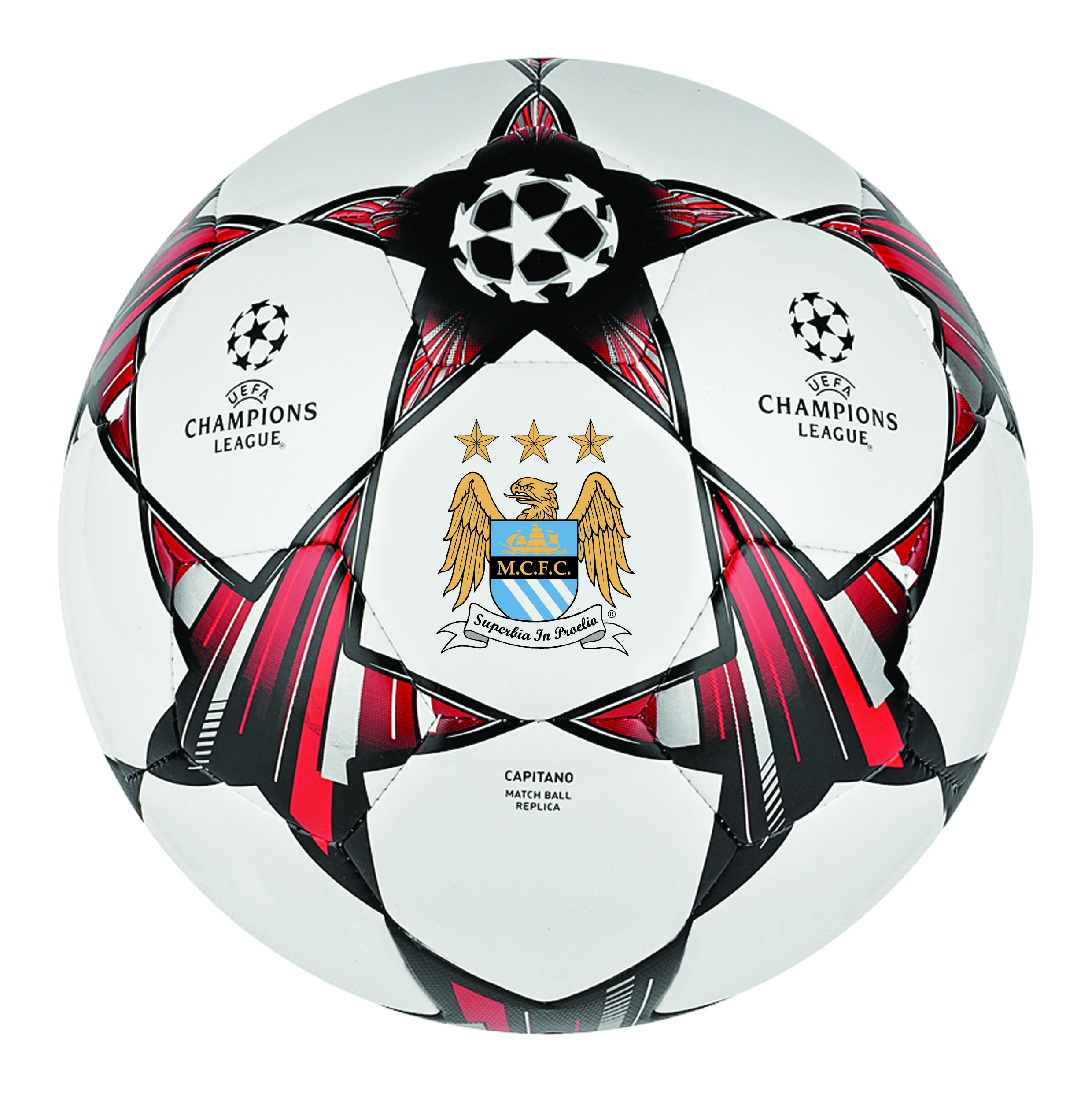 Manchester City Champions League Official Replica Ball
