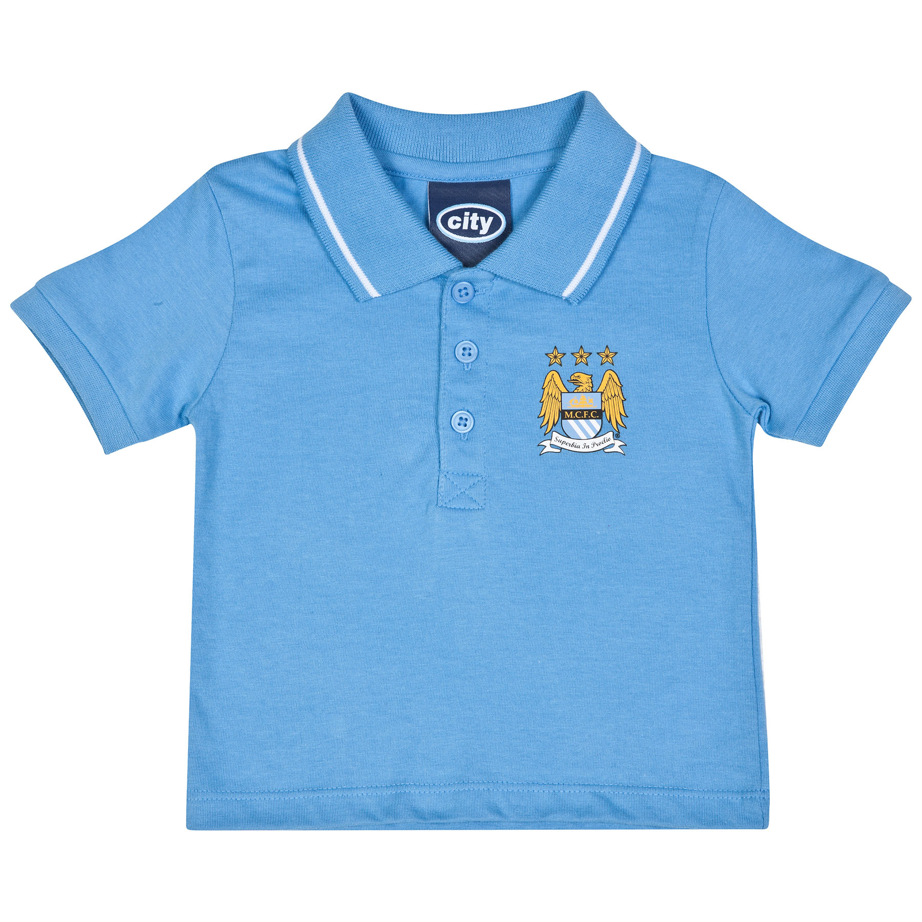 Manchester City Prince Polo-Baby Lt Blue
