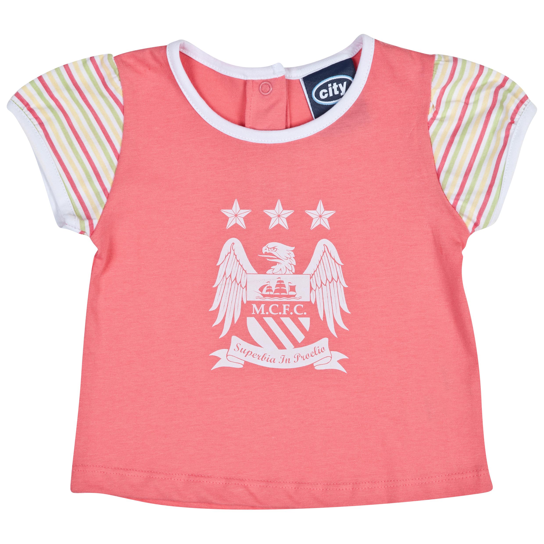 Manchester City Trickster T-Shirt-Baby Pink
