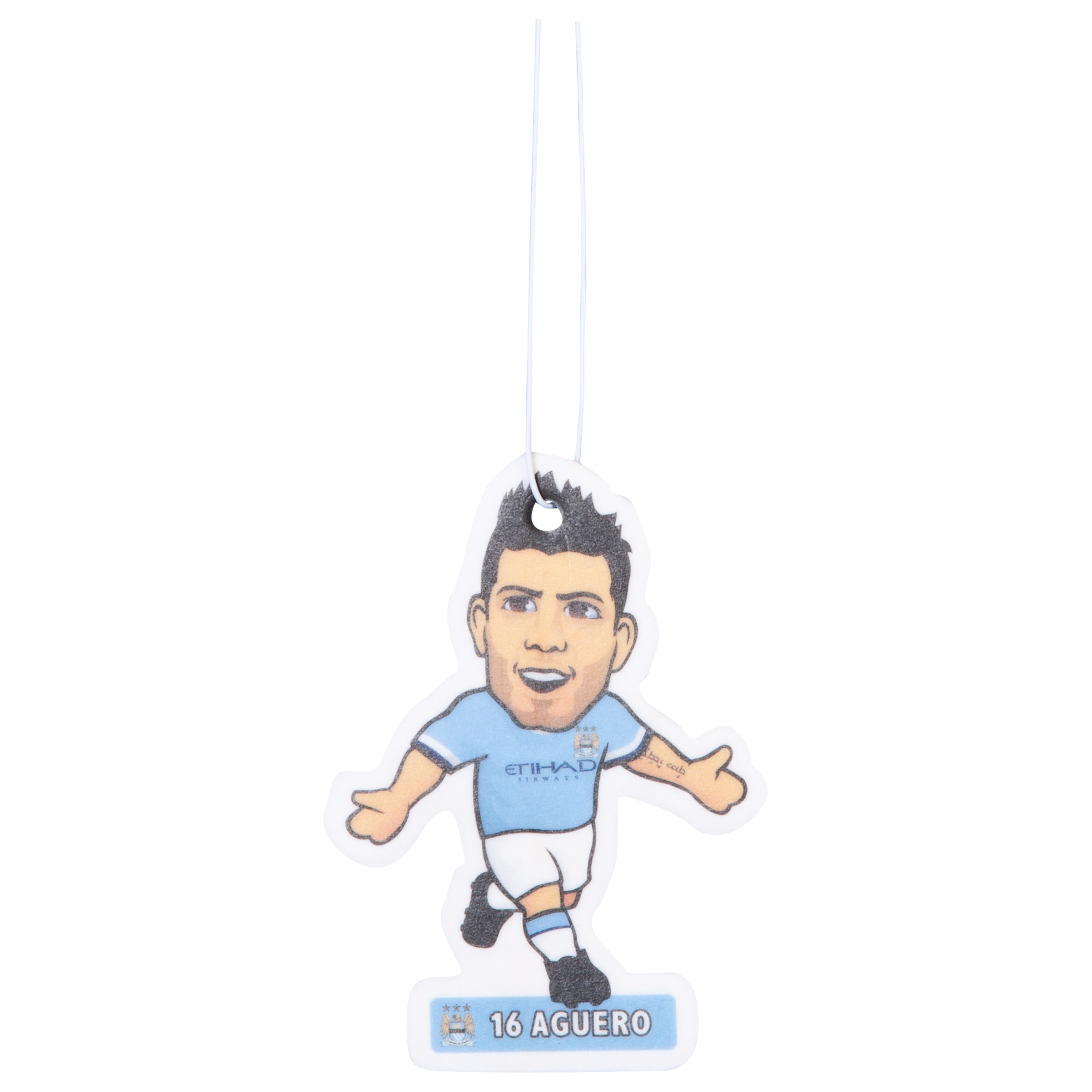 Manchester City Aguero Air Freshener