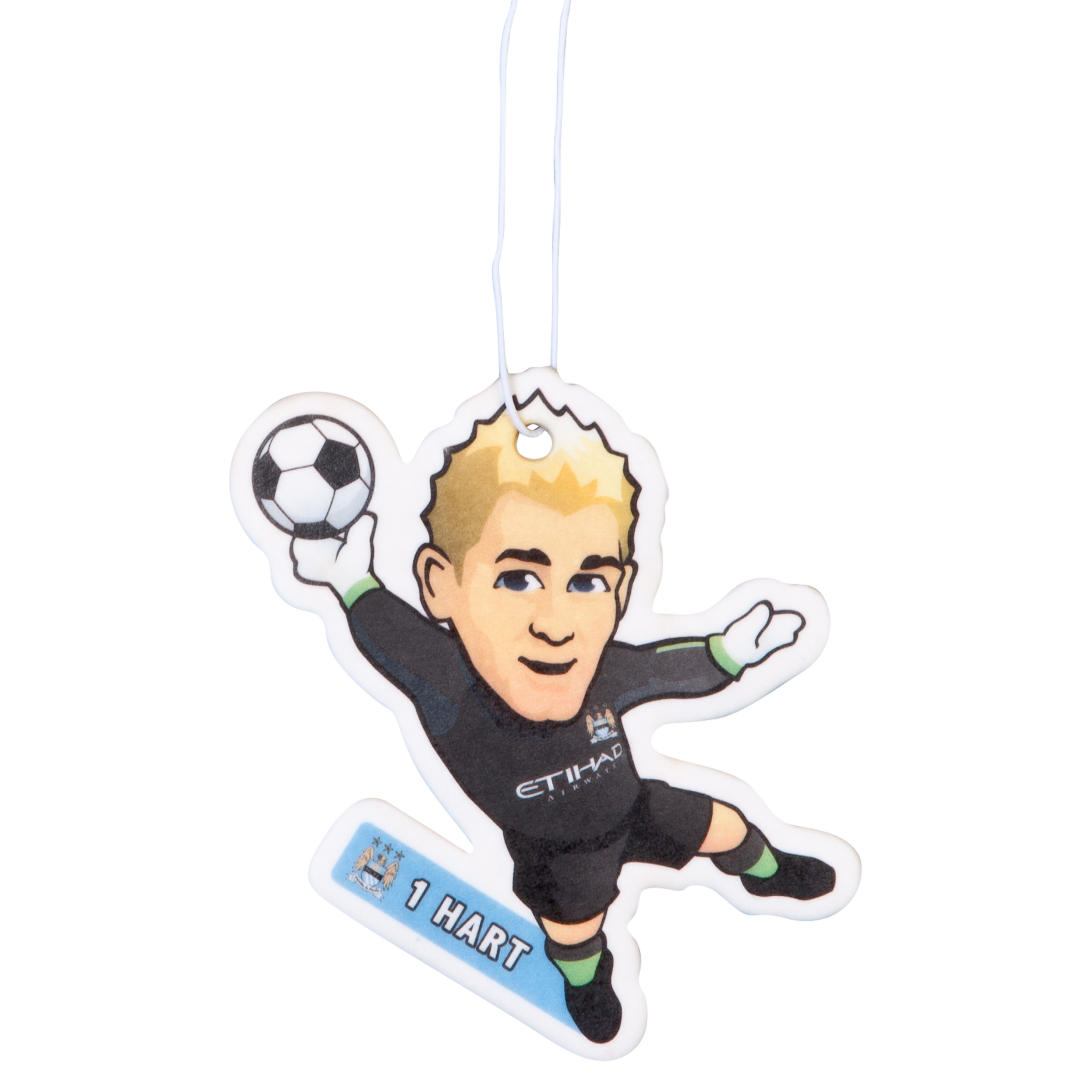 Manchester City Hart Air Freshener