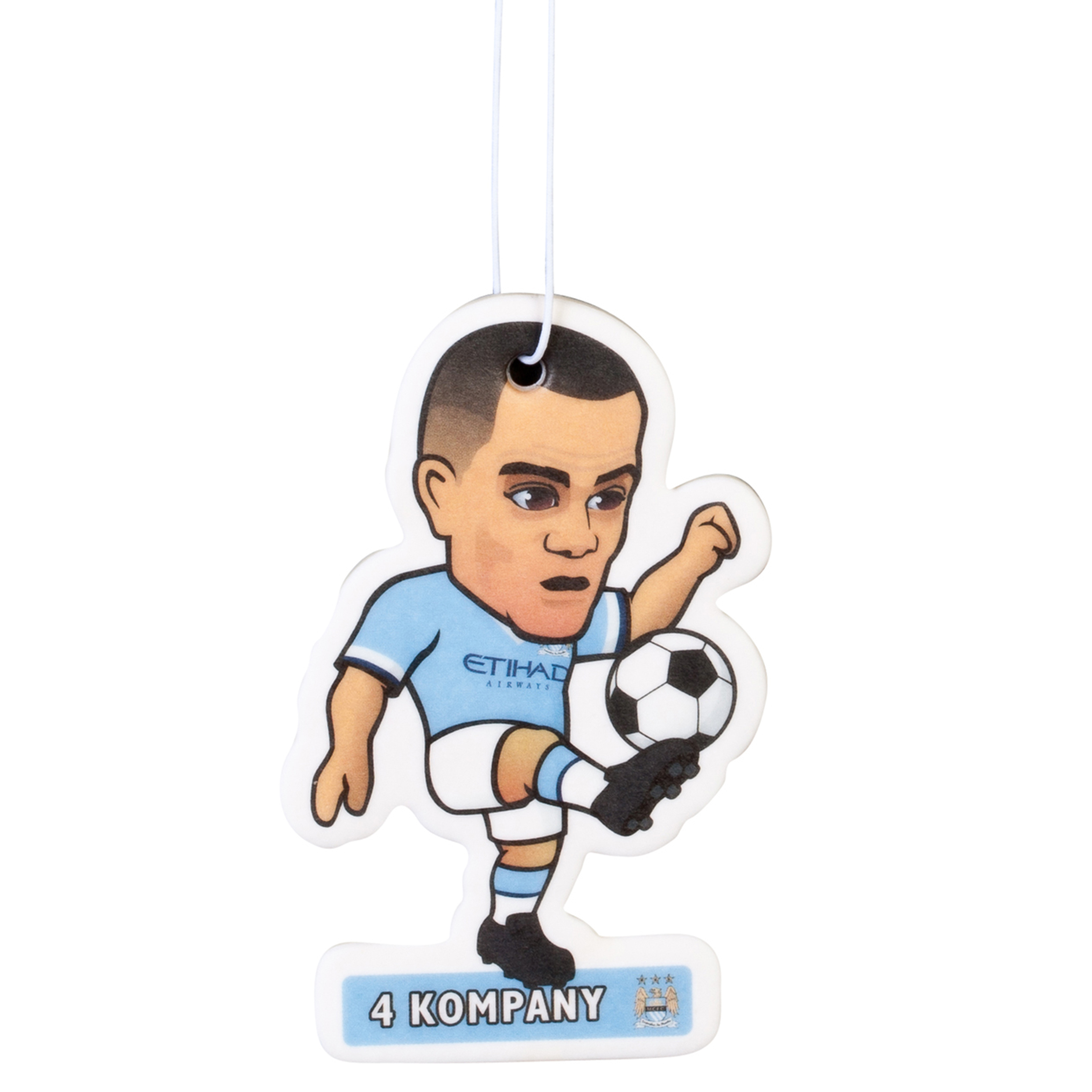 Manchester City Kompany Air Freshener