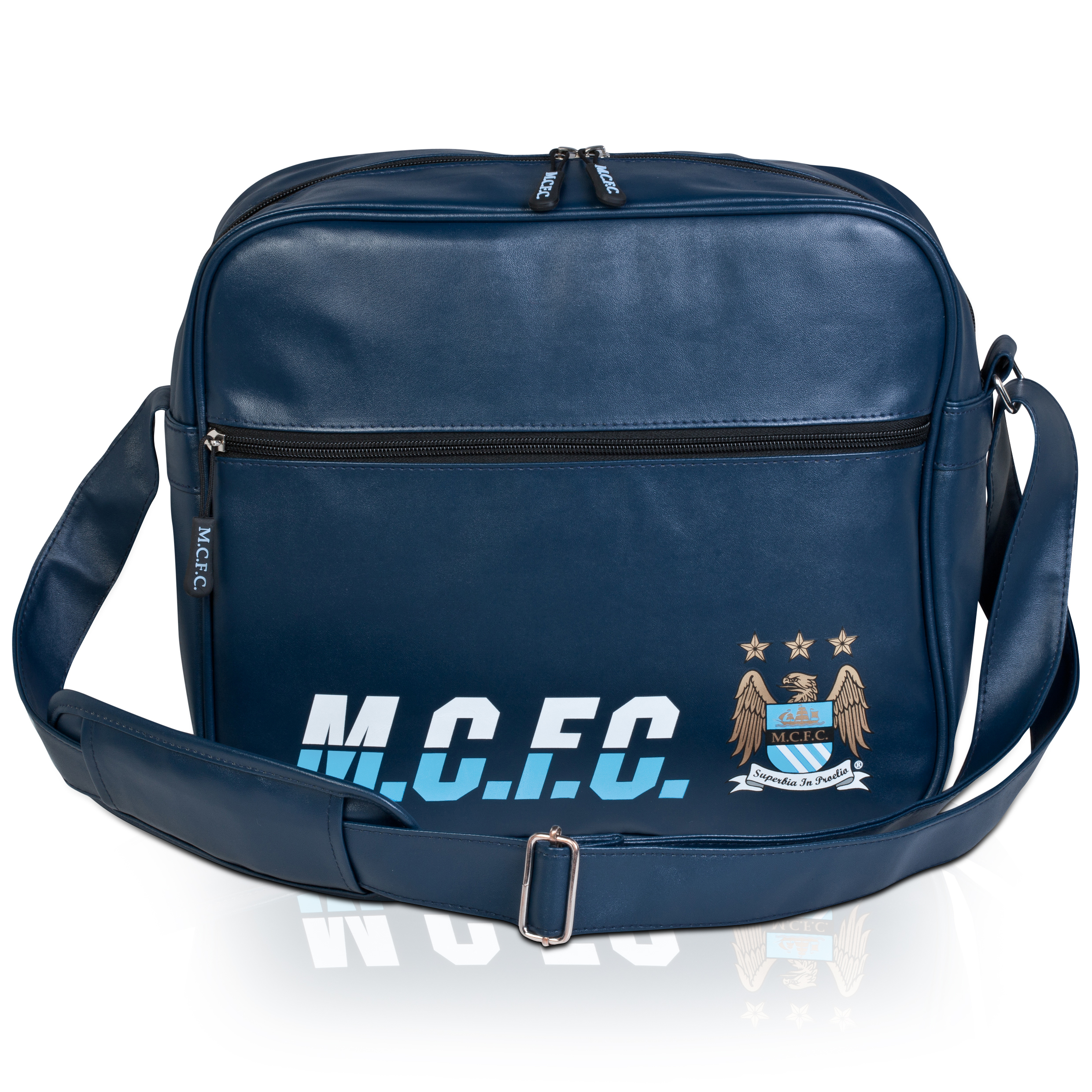 Manchester City Retro Messenger Bag