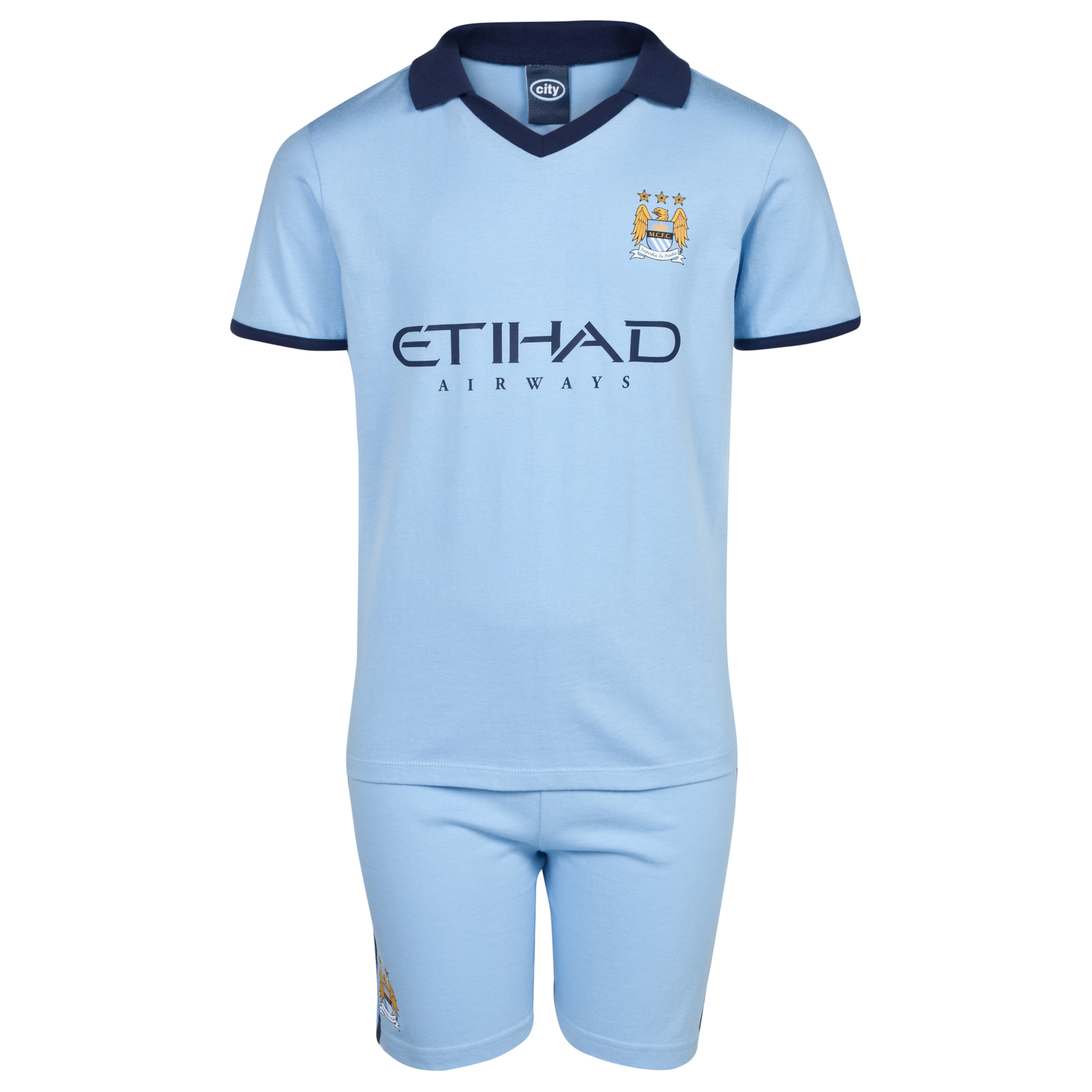 Manchester City 14/15 Kit Pyjamas-Sky Blue