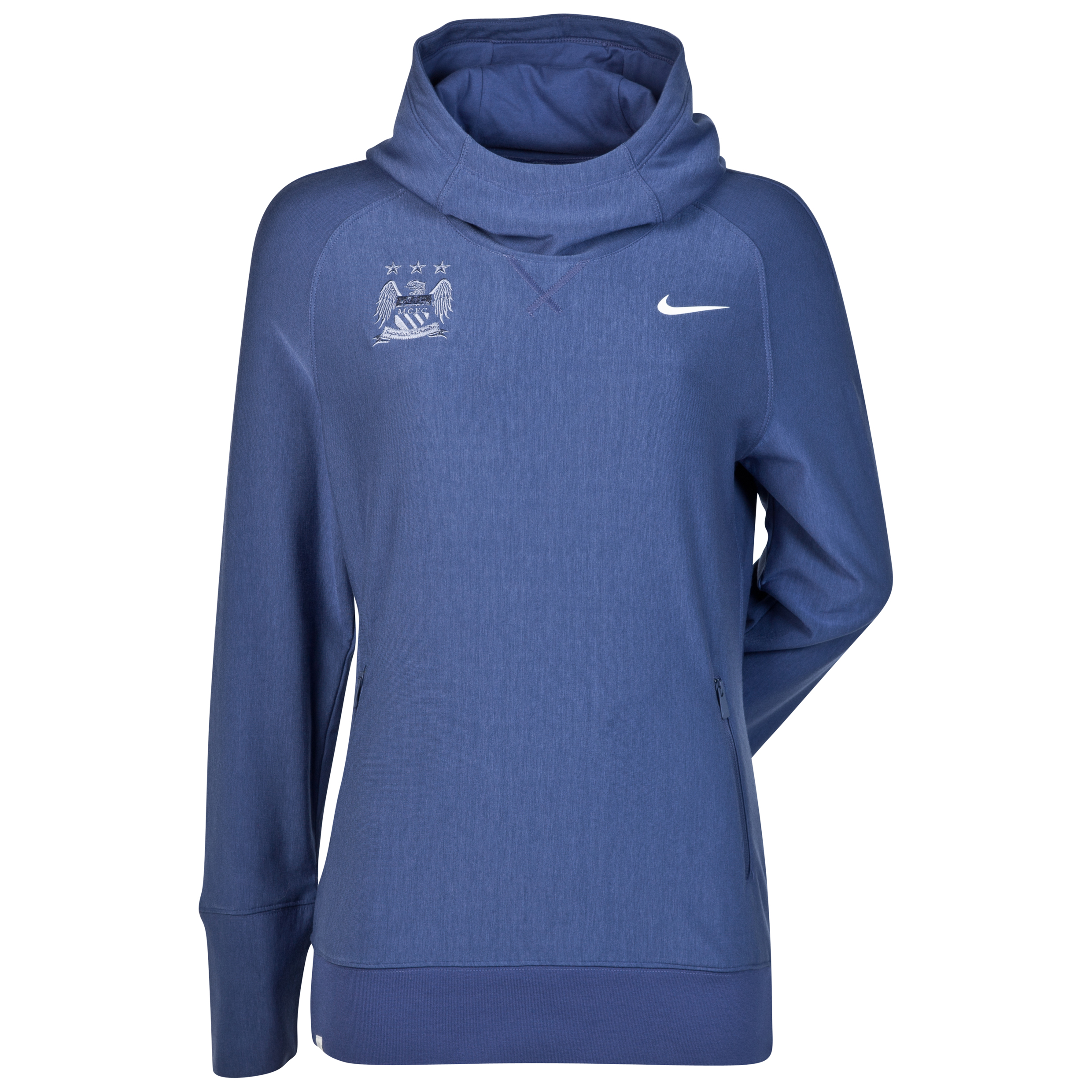 Manchester City Nike Sport Hoody - Womens Black