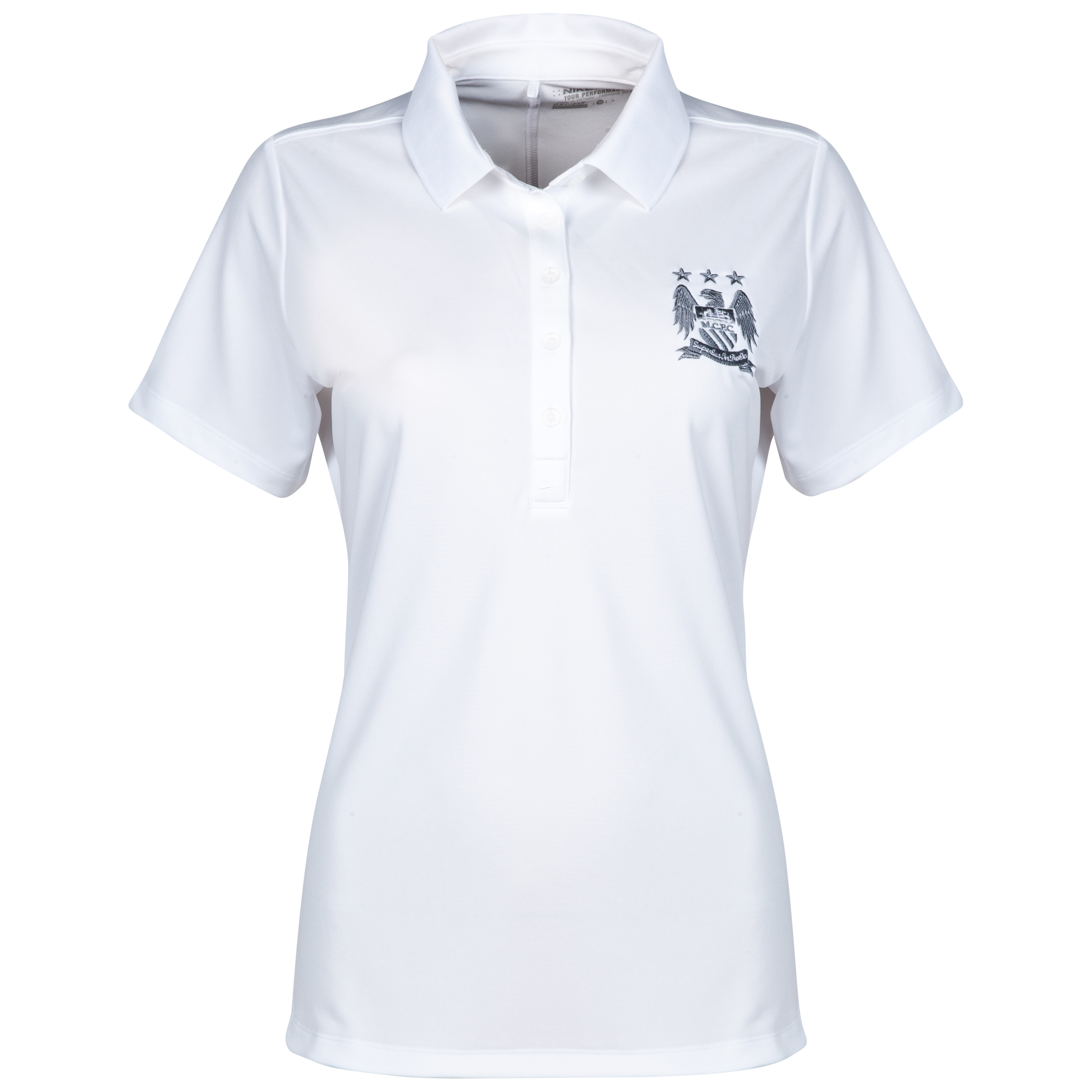Manchester City Nike Victory Polo - Womens White