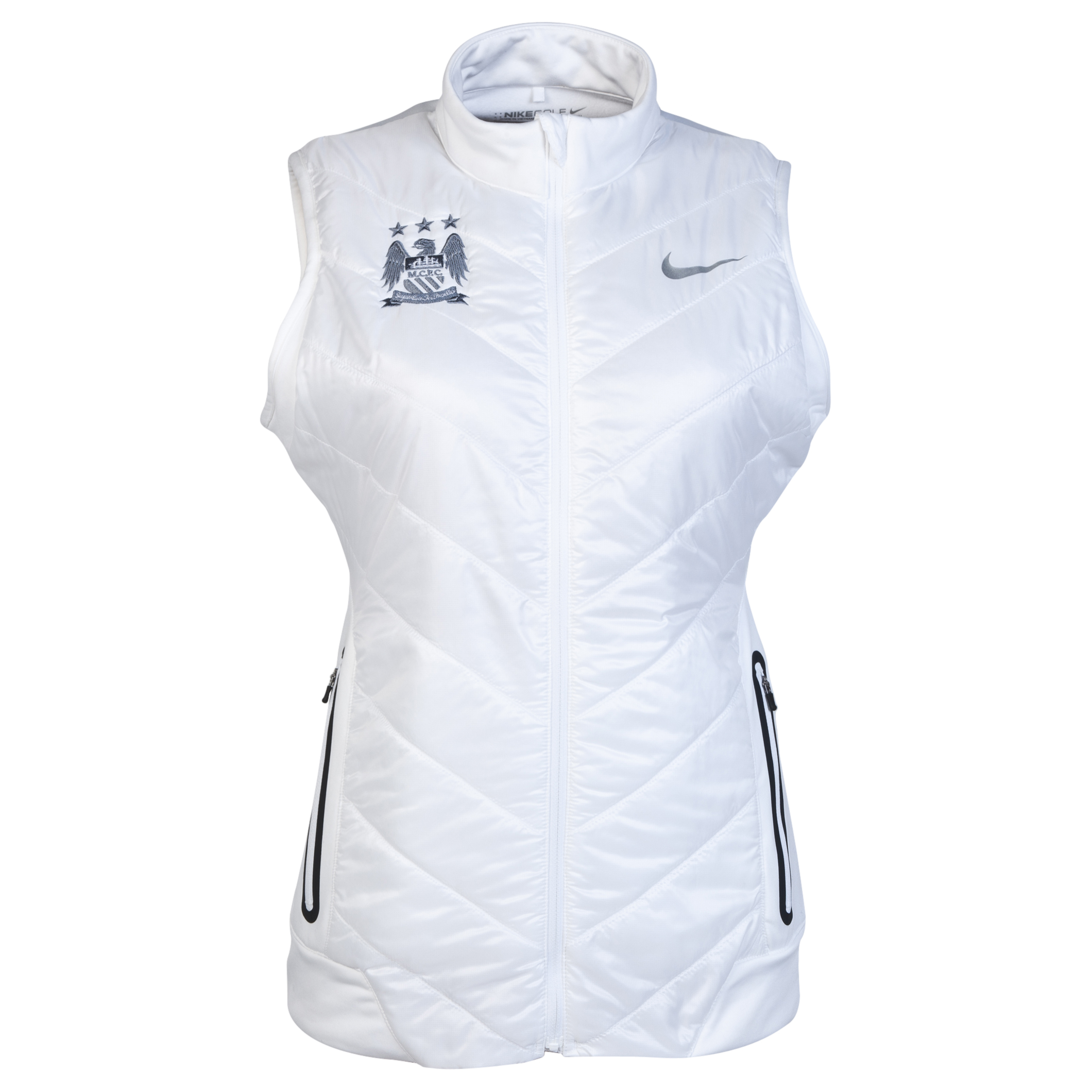 Manchester City Nike Thermal Mapping Vest - Womens White