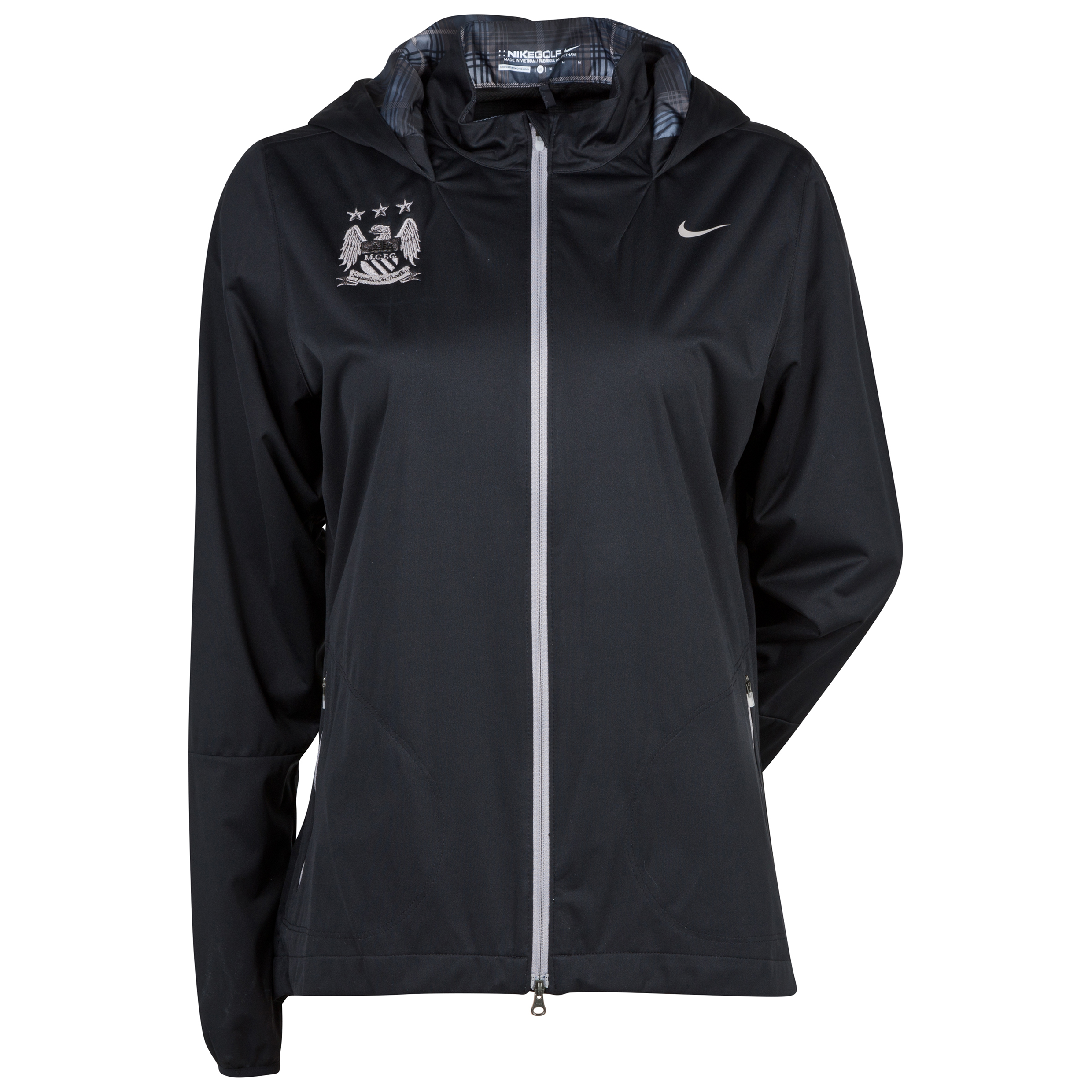 Manchester City Nike Windproof Anorak - Womens Black