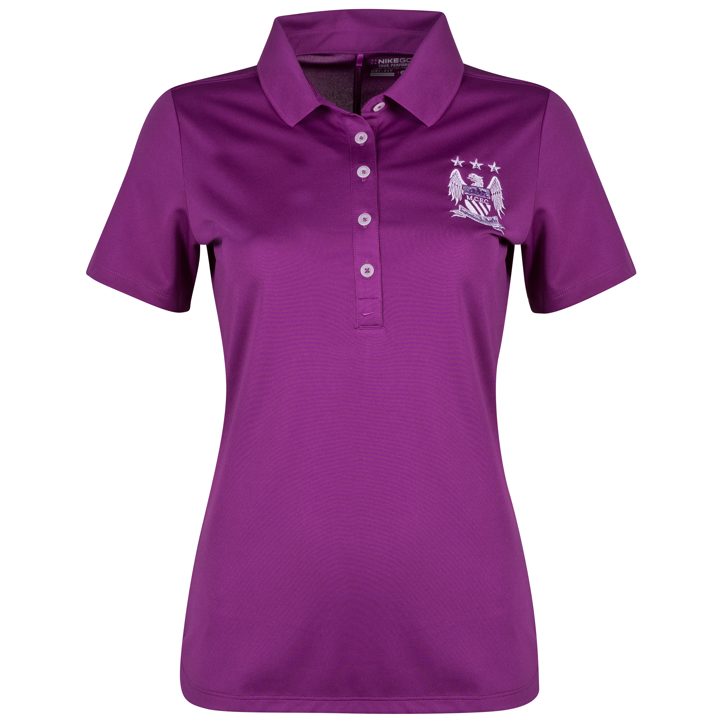 Manchester City Nike Victory Polo - Womens Purple
