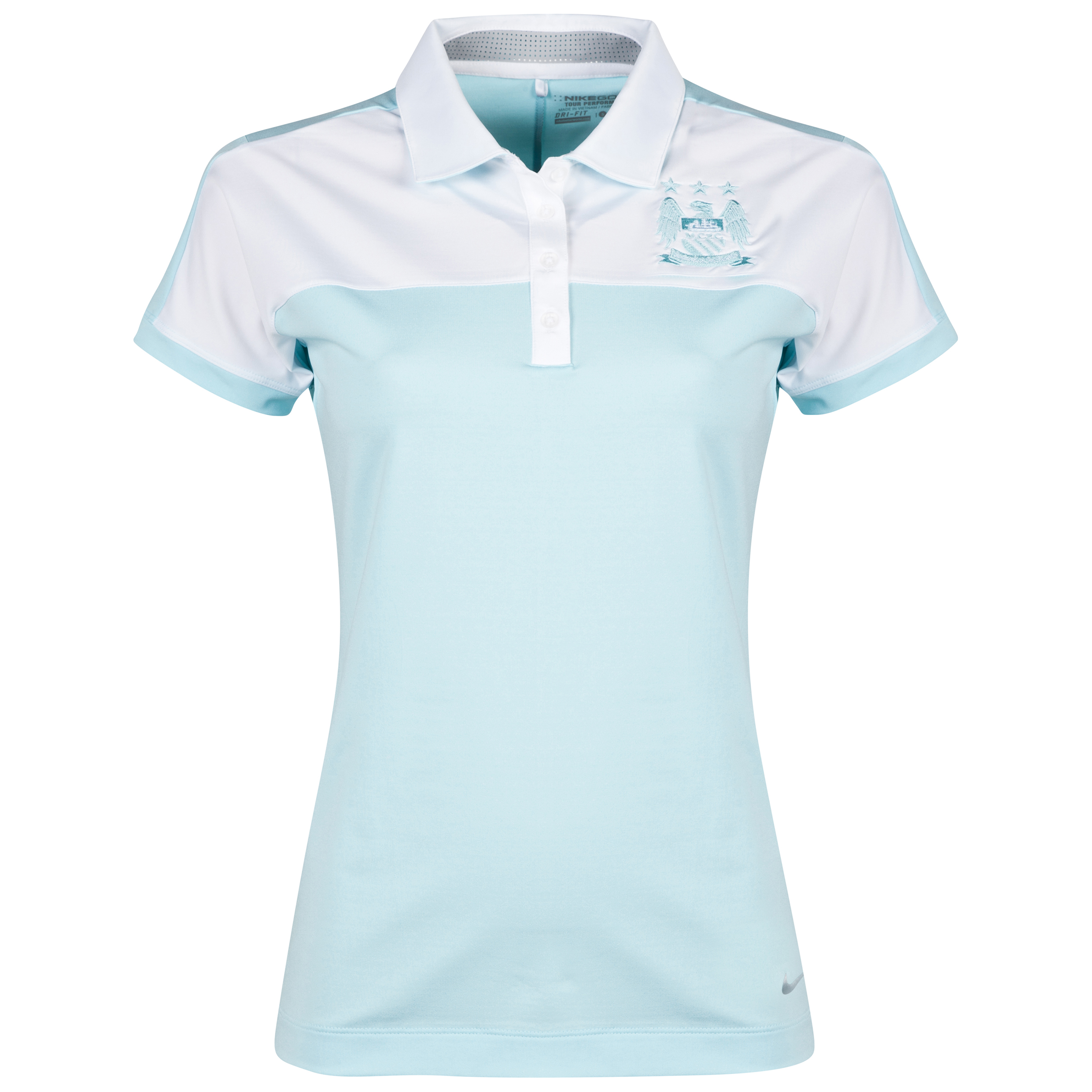Manchester City Nike Sporty Polo - Womens Lt Blue