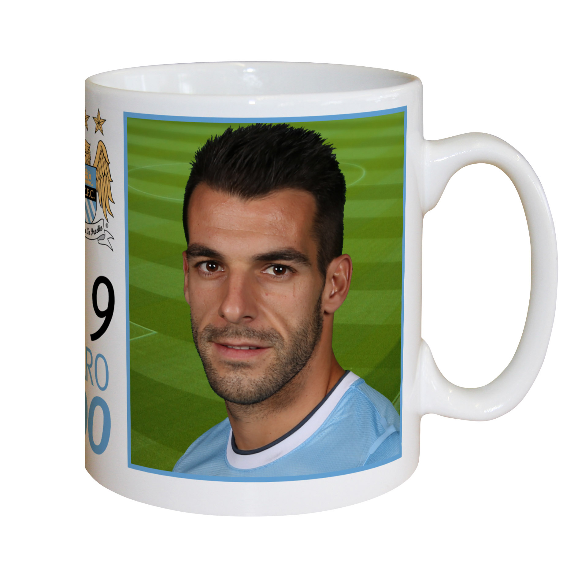 Manchester City Personalised Mug Negredo
