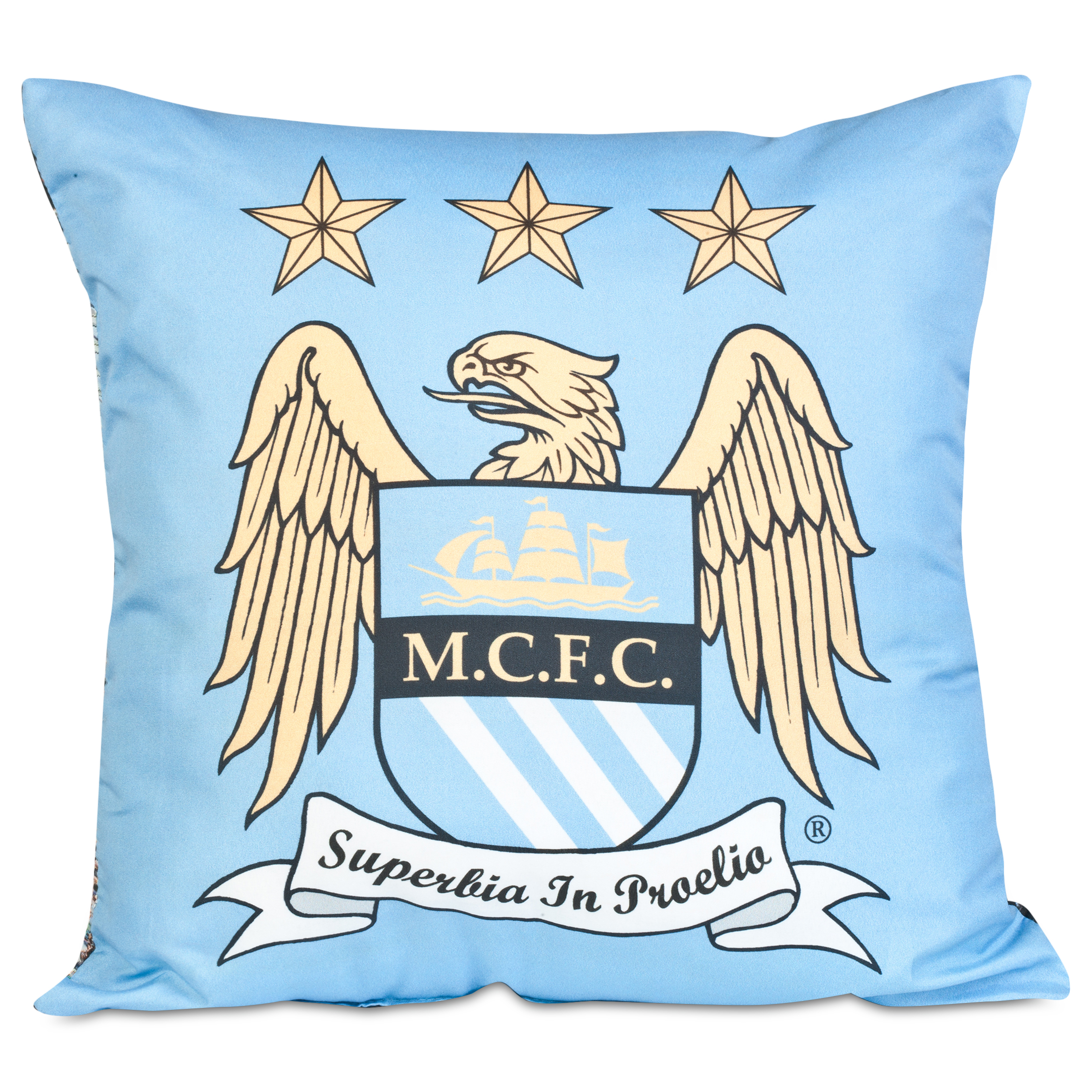 Manchester City Crest Cushion