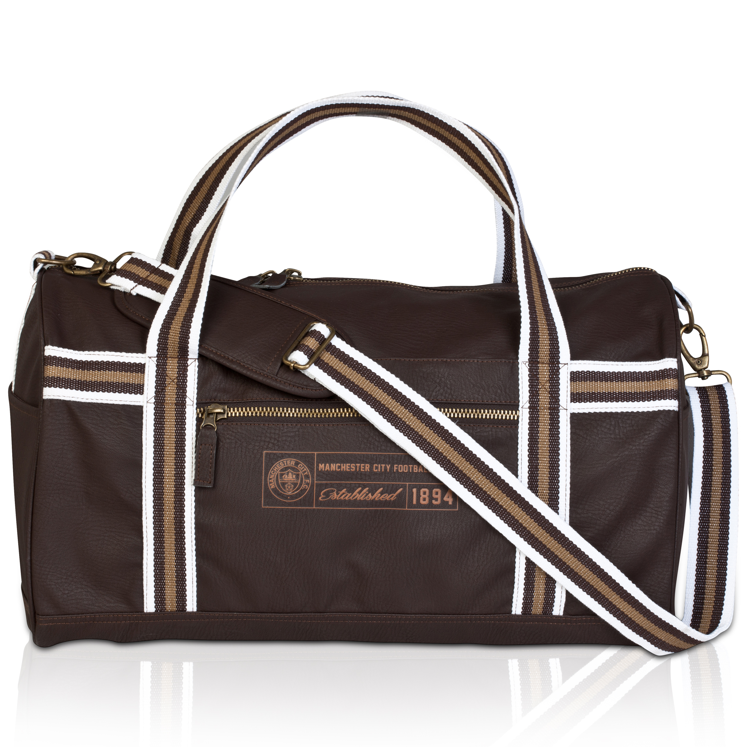 Manchester City Retro Duffle Bag