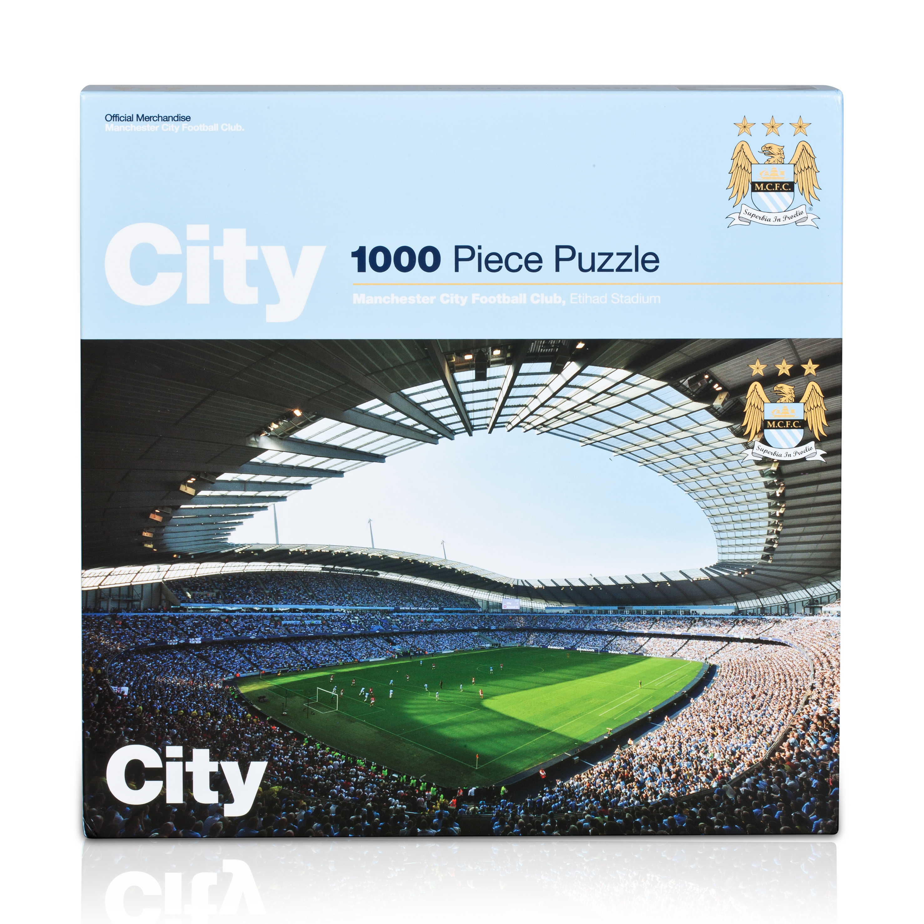 Manchester City 1000 pc jigsaw