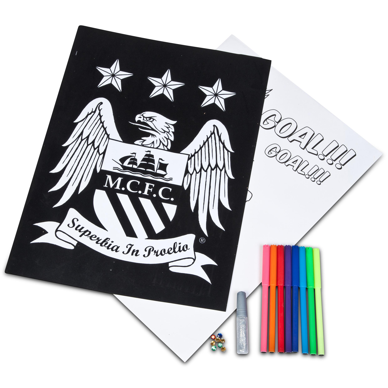 Manchester City Velvet art