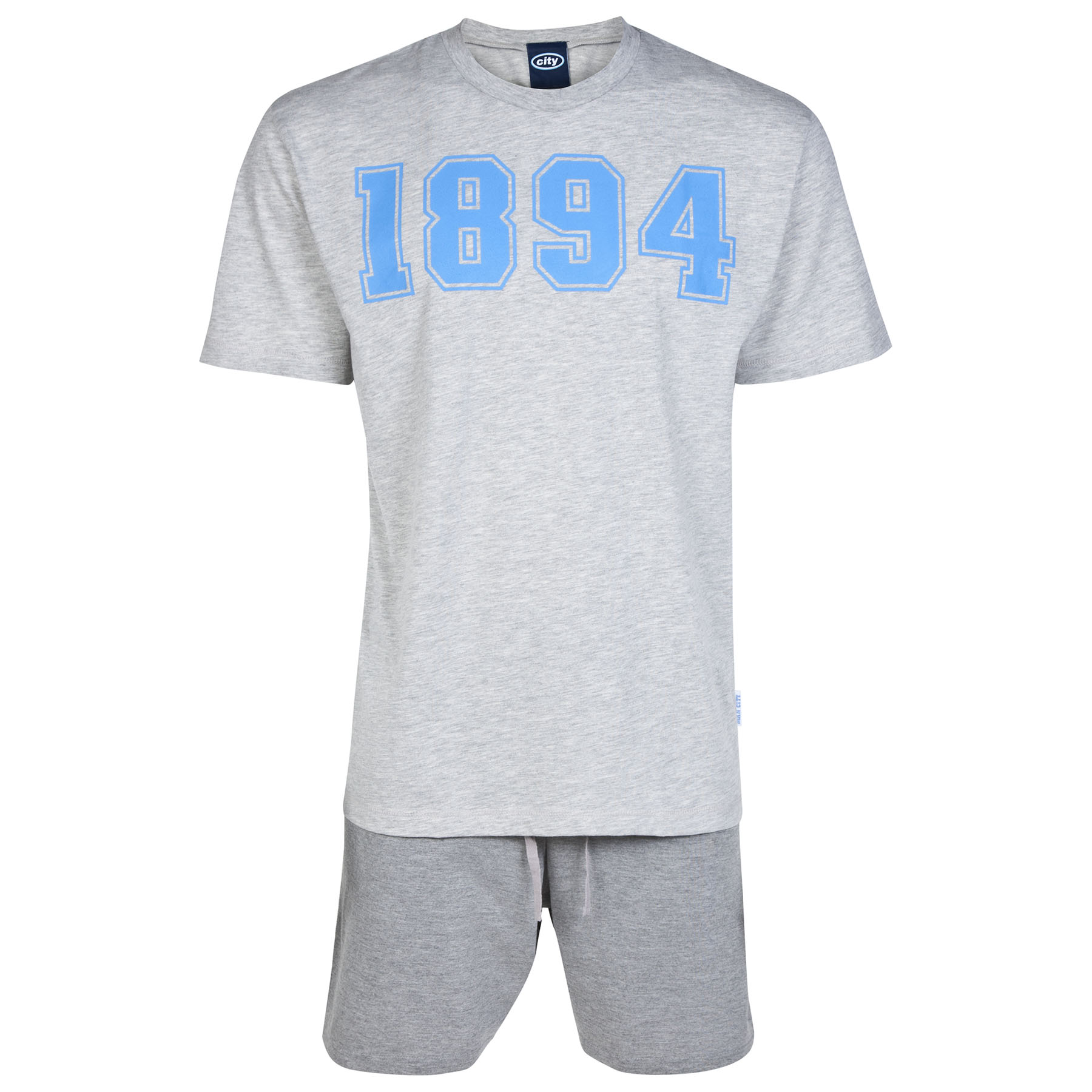 Manchester City Pyjamas - Grey - Mens