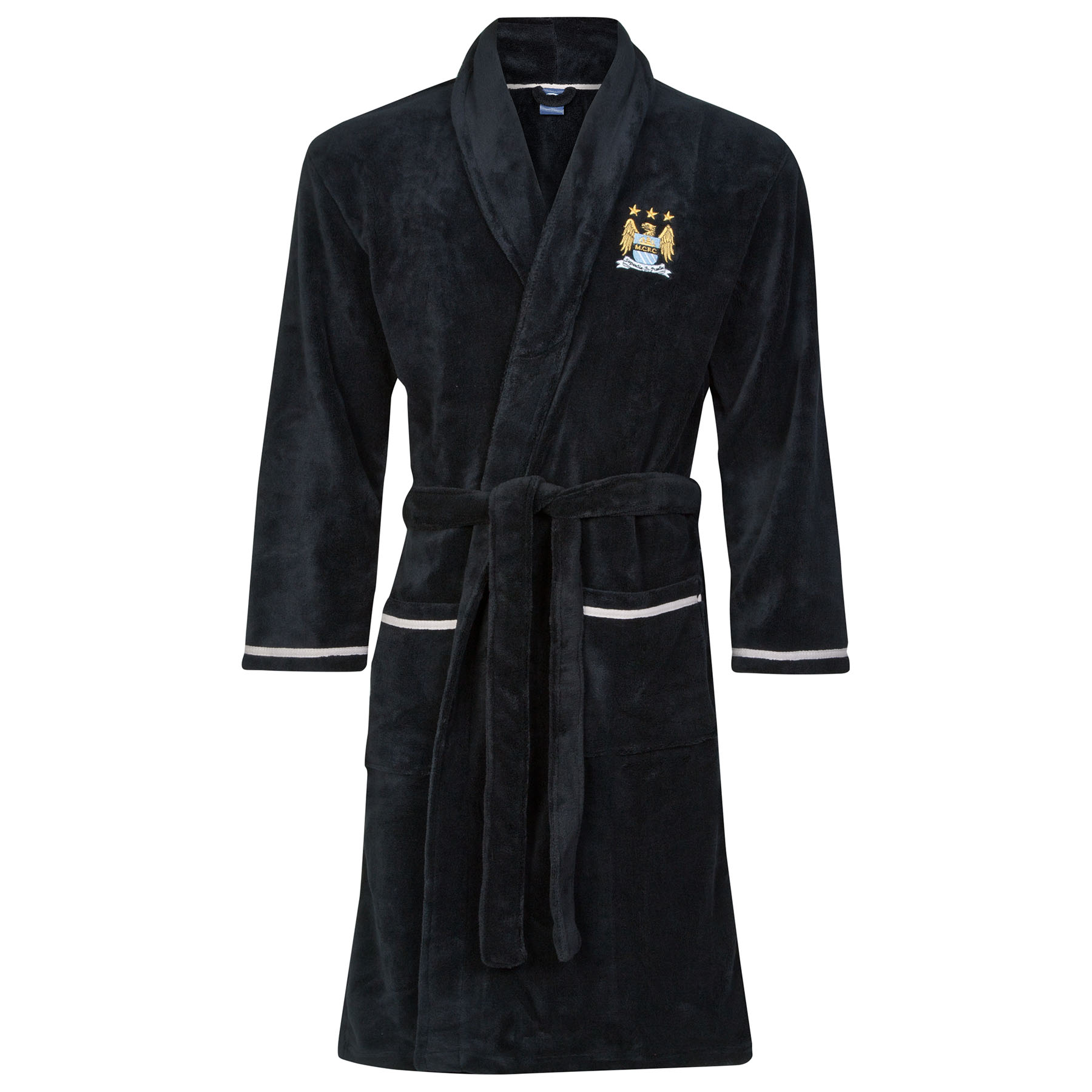 Manchester City Robe - Black - Mens