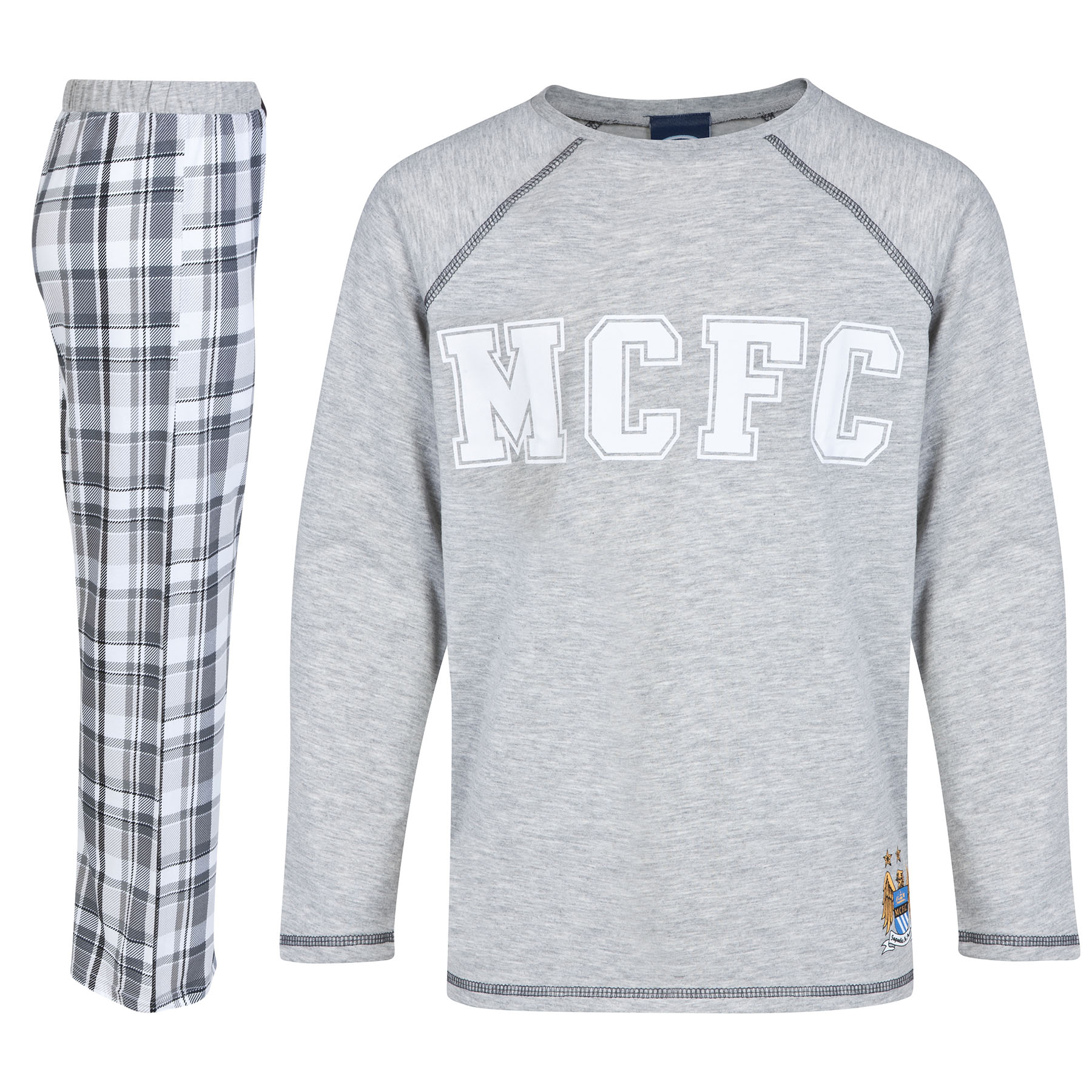 Manchester City Pyjamas - Grey - Older Boys