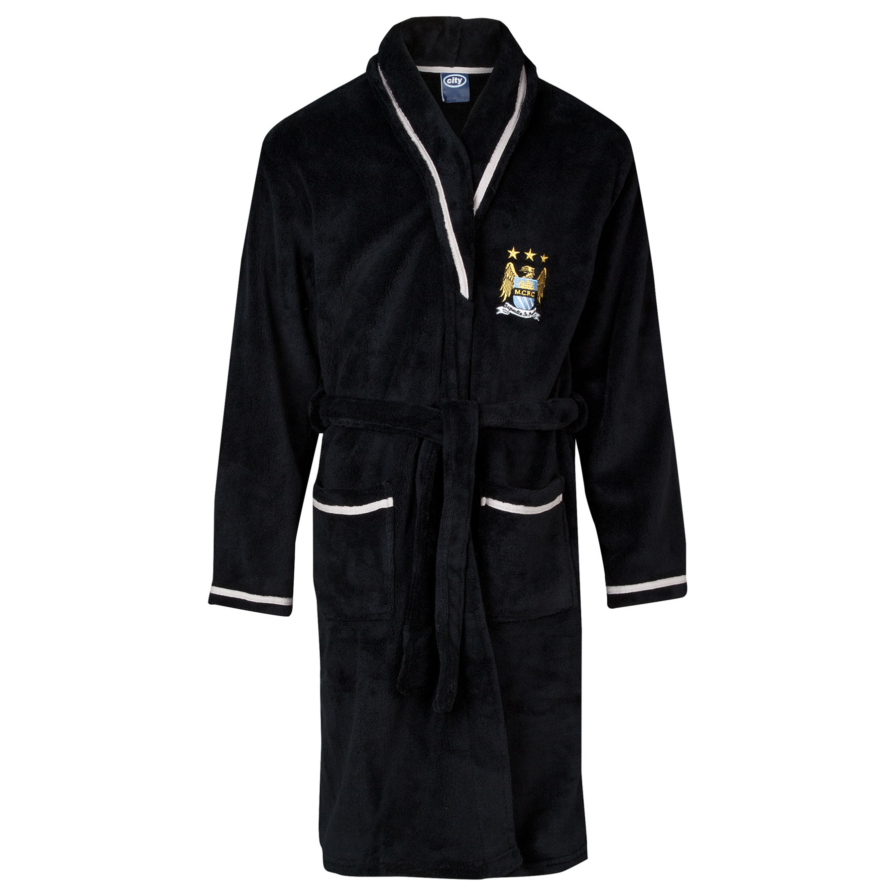 Manchester City Robe - Black - Boys