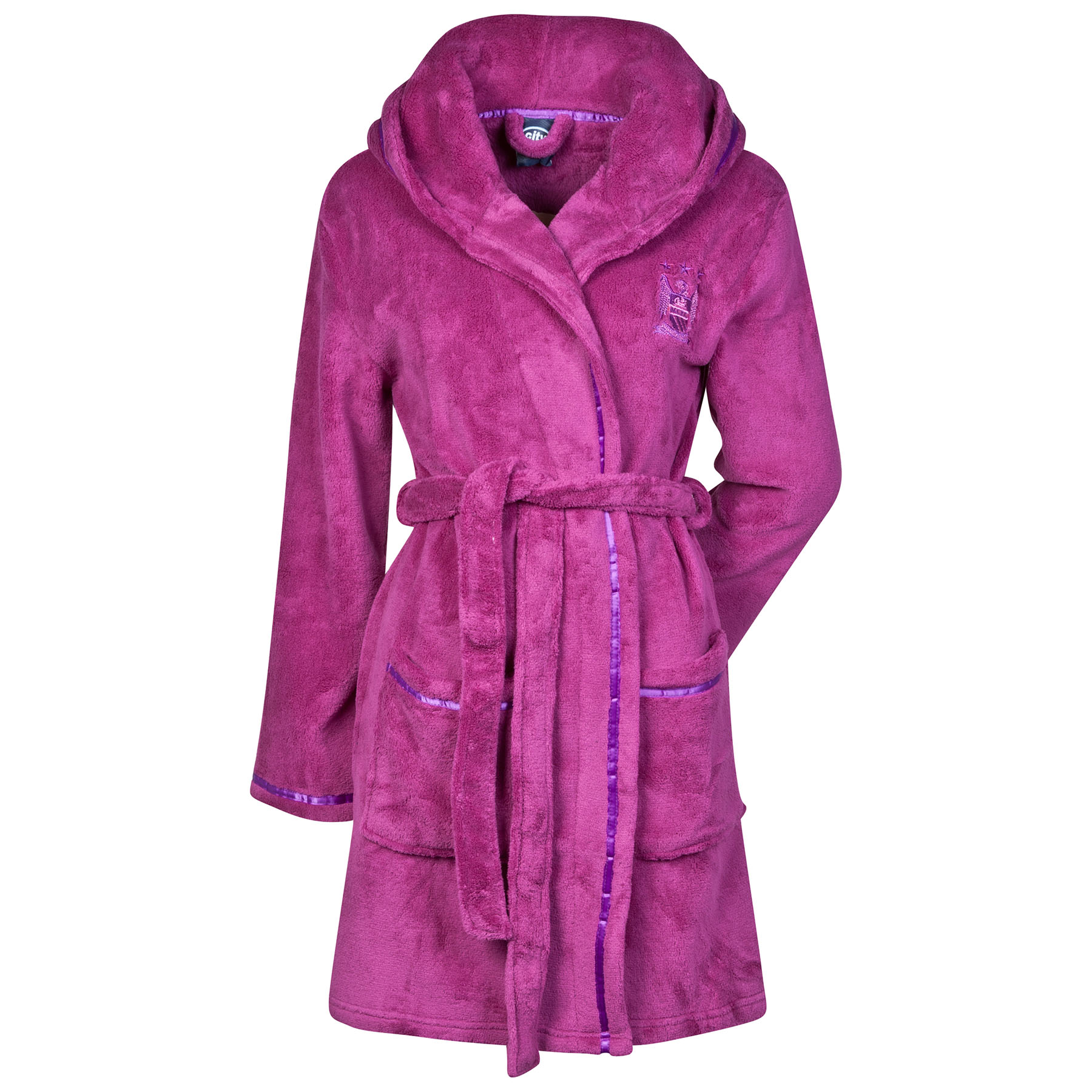 Manchester City Robe - Magenta Pink - Womens