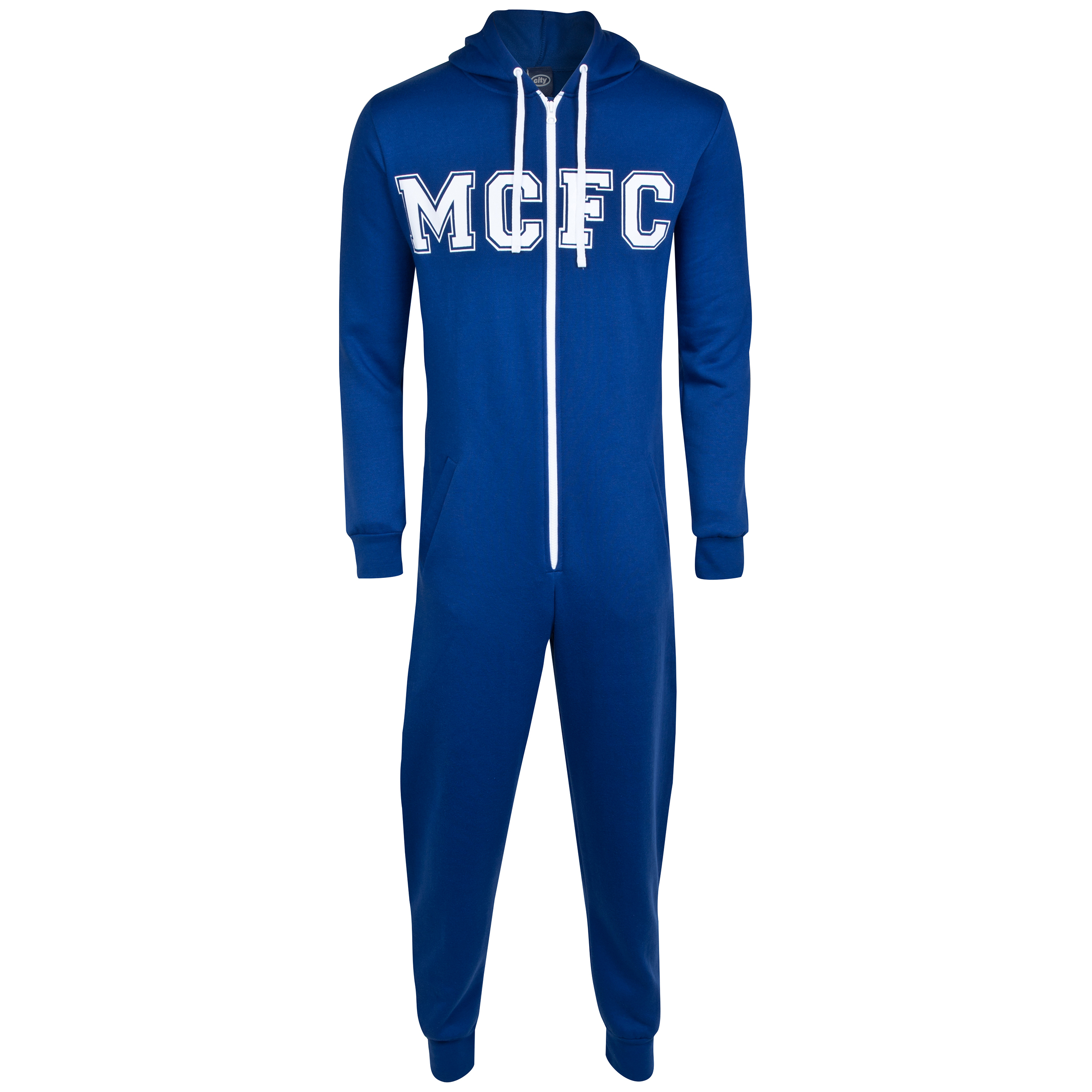 Manchester City Onesie - Navy - Mens