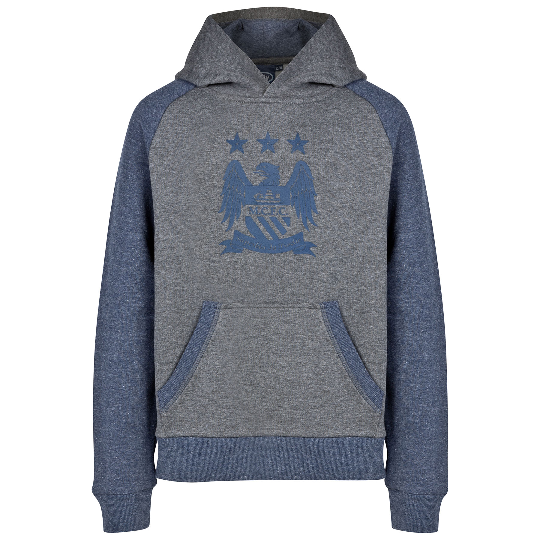 Manchester City Essential Hoodie - Heather Navy - Older Boys