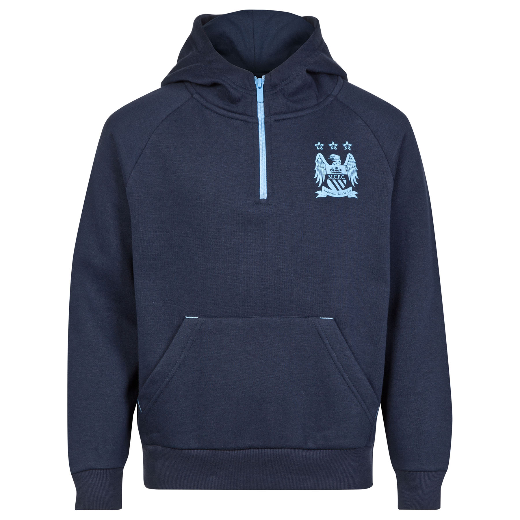 Manchester City Essential Hoodie - Navy - Older Boys