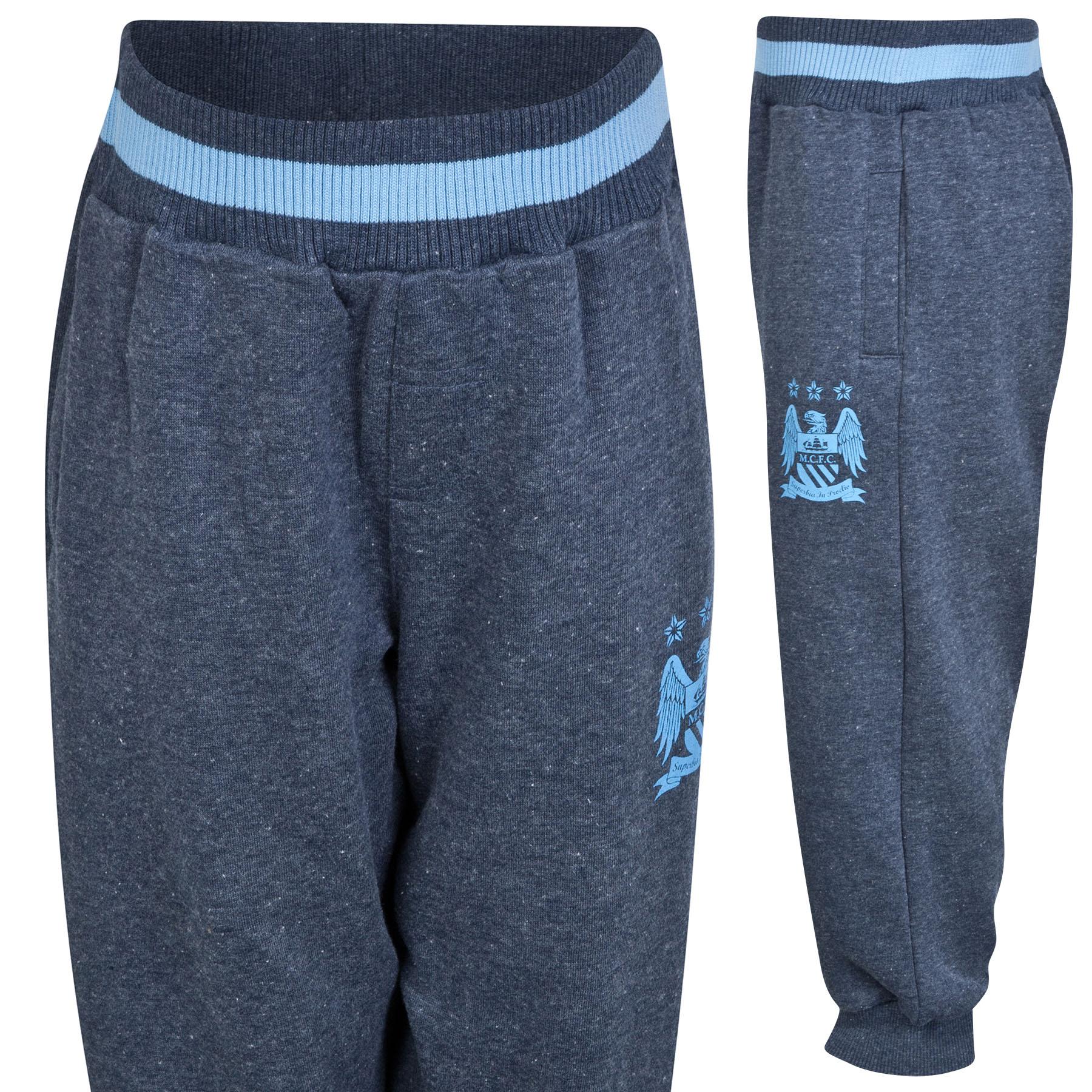 Manchester City Essential Jog Pant - Navy - Infant Boys