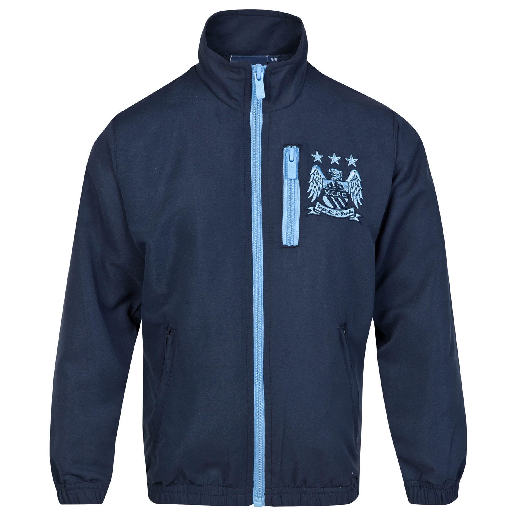 Manchester City Essential Track Jacket- Navy - Infant Boys