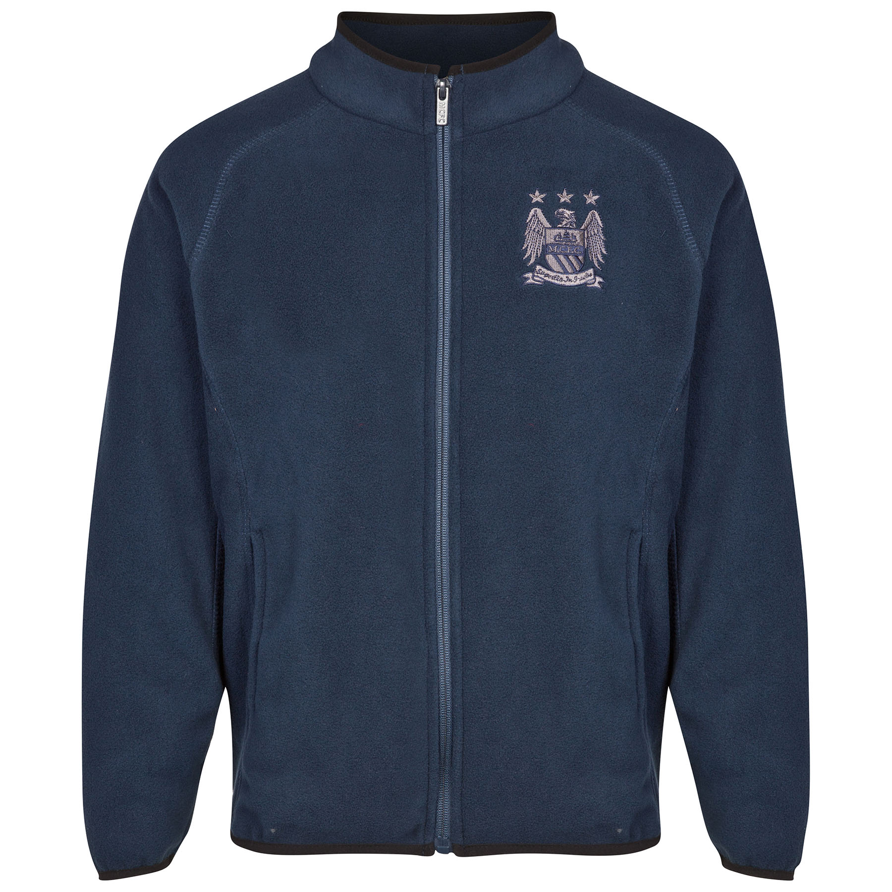 Manchester City Essential Fleece - Navy - Older Boys