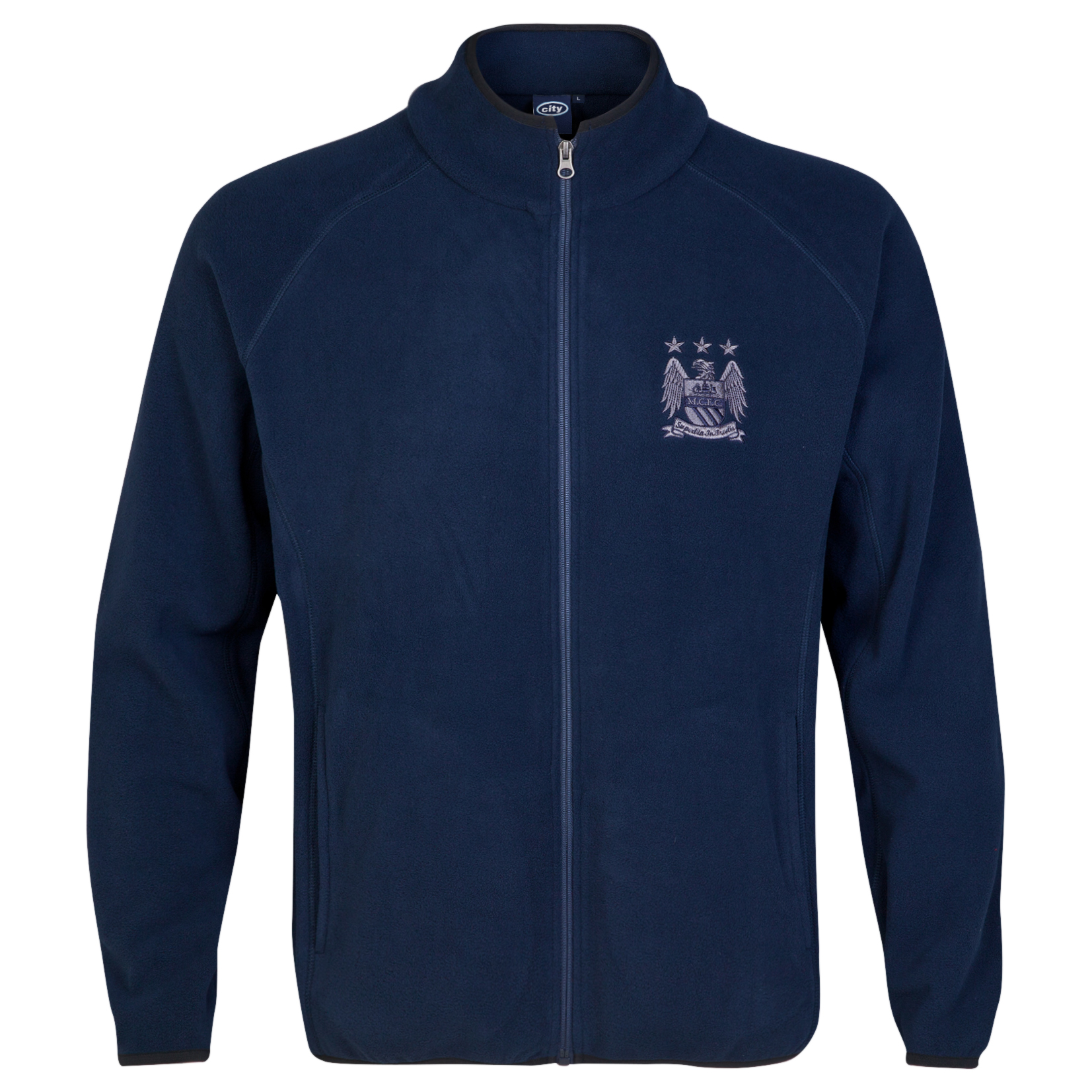 Manchester City Essential Fleece - Navy - Mens
