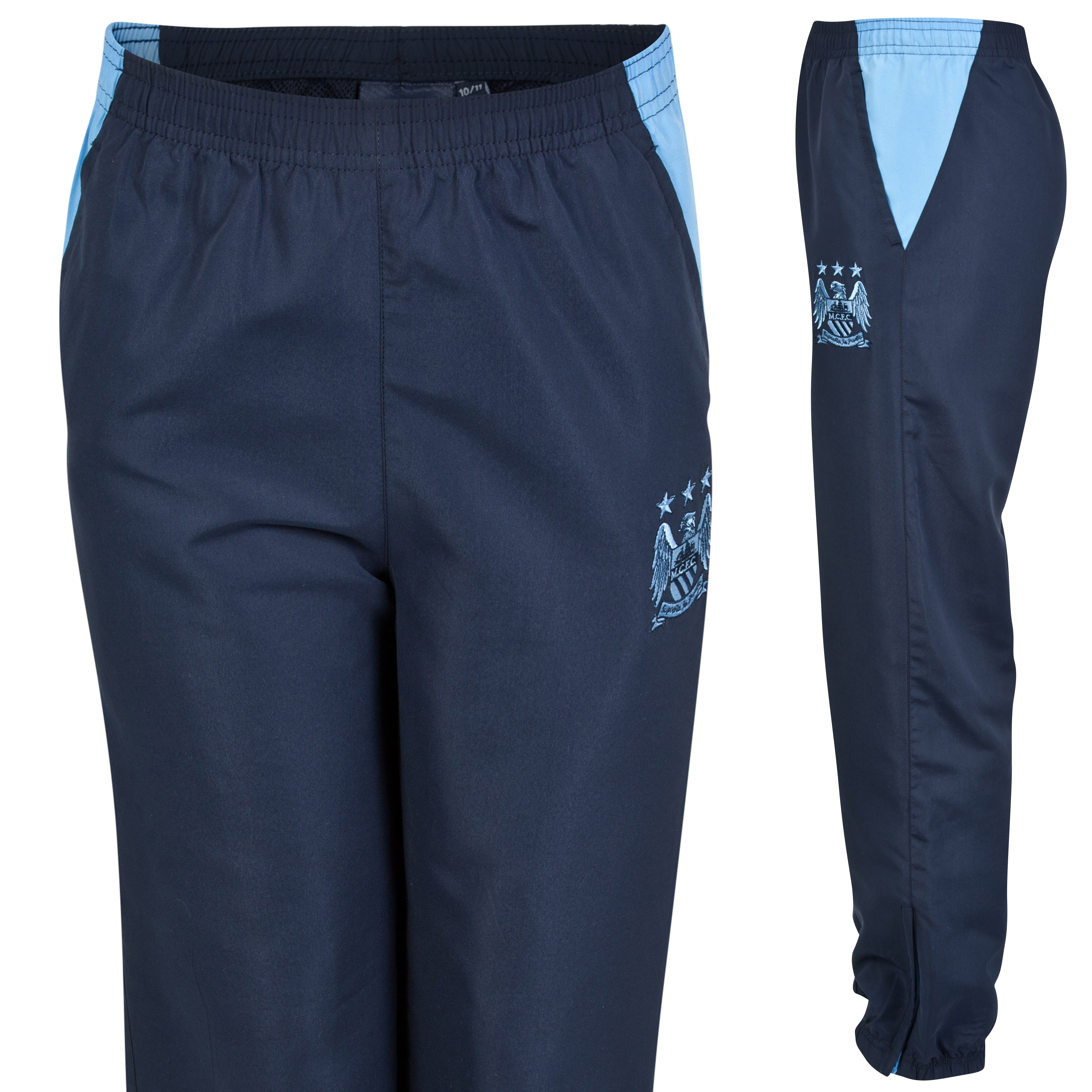 Manchester City Essential Track Pants - Navy - Infant Boys