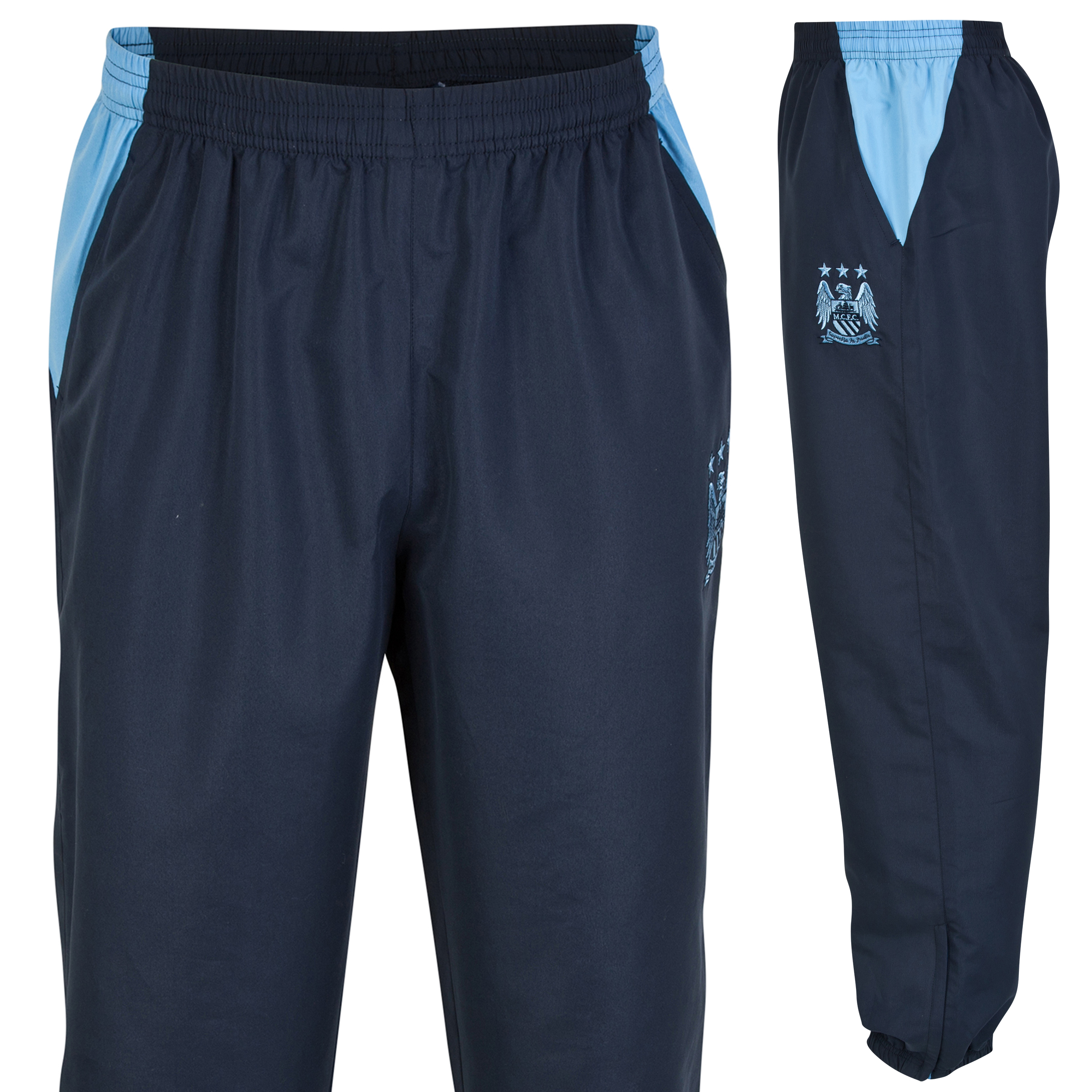 Manchester City Essential Track Pants - Navy - Mens