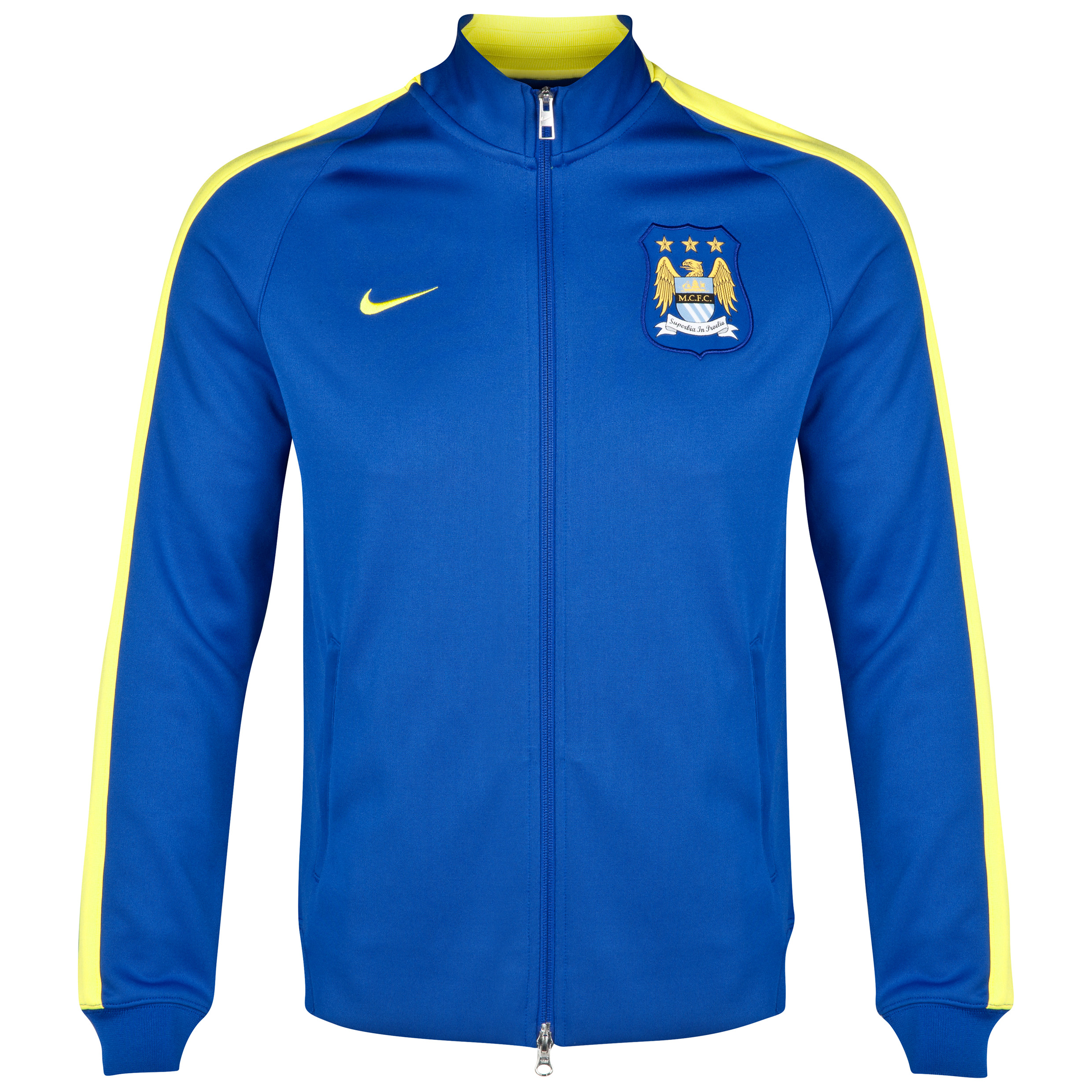Manchester City Authentic N98 Jacket Royal Blue