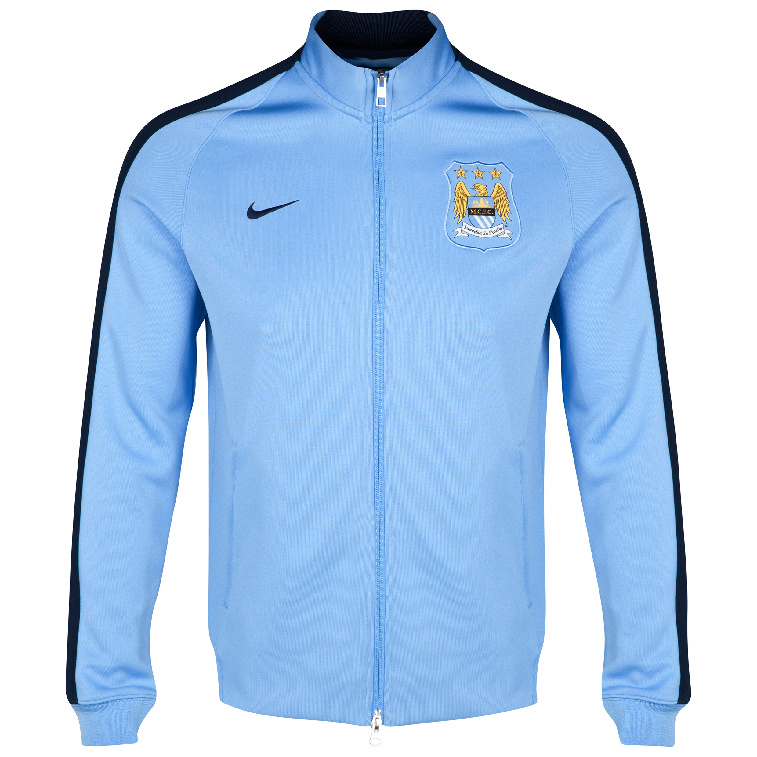 Manchester City Authentic N98 Jacket Blue