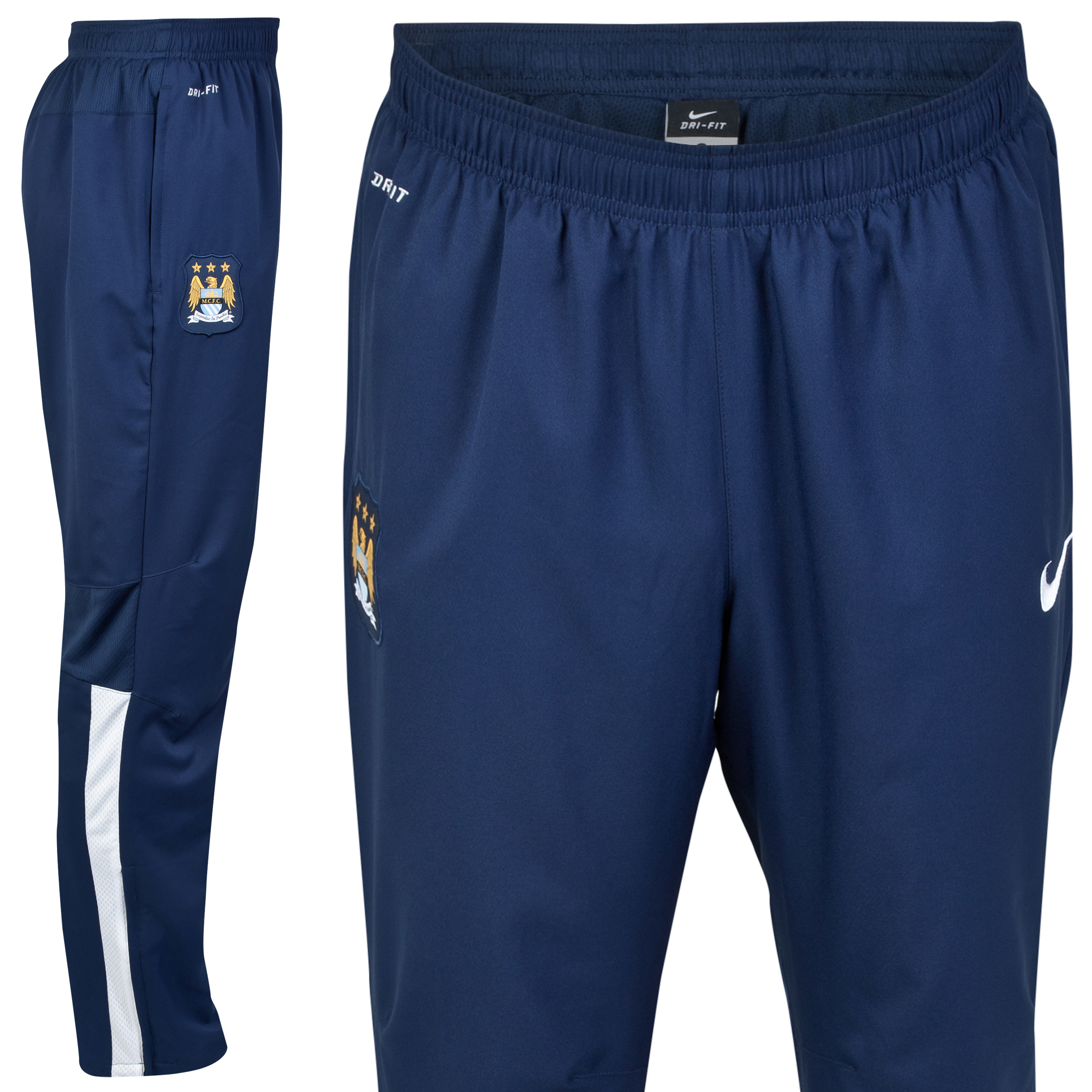 Manchester City Squad Sideline Woven Pants Navy