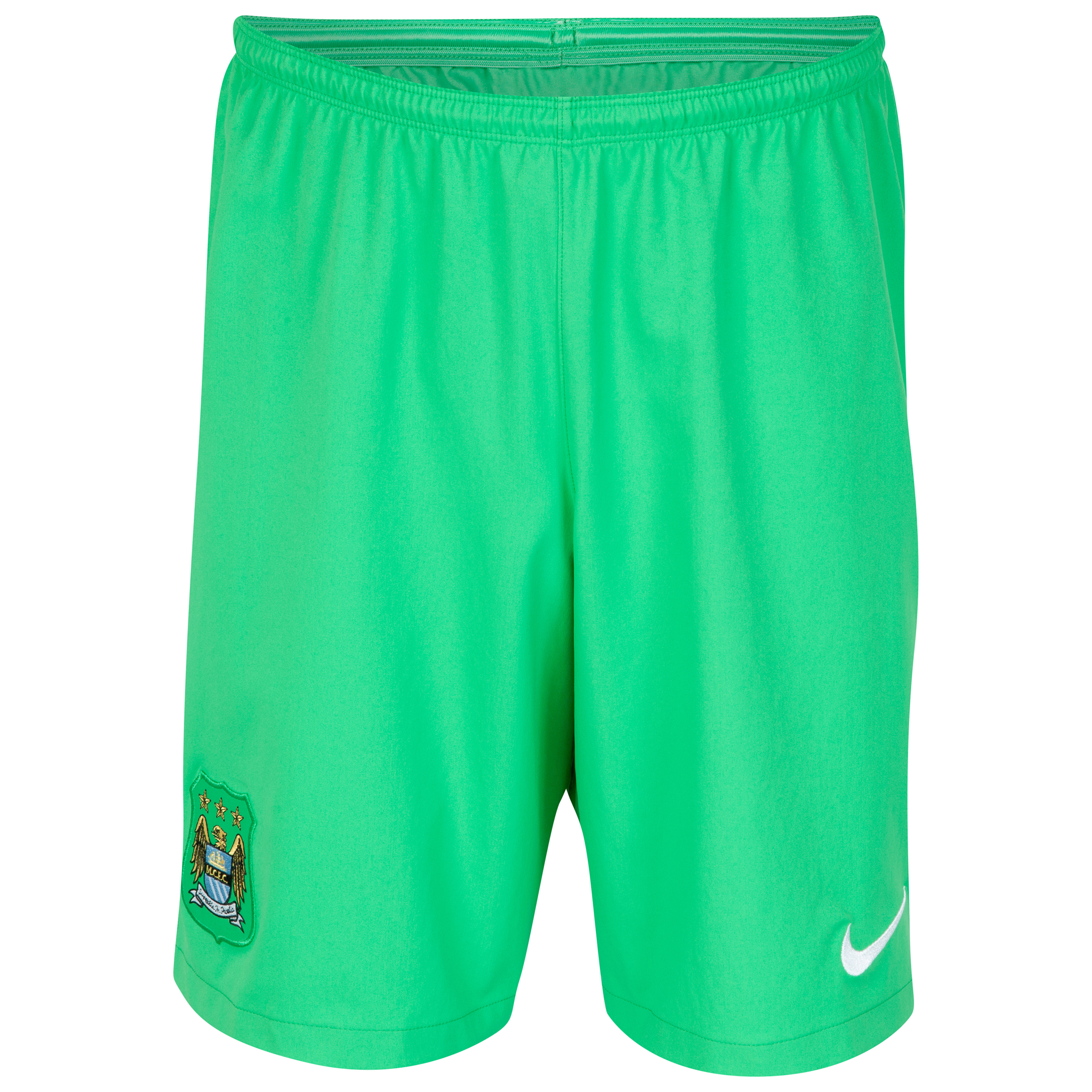 Manchester City Goalkeeper Shorts 2014/15 Lt Green