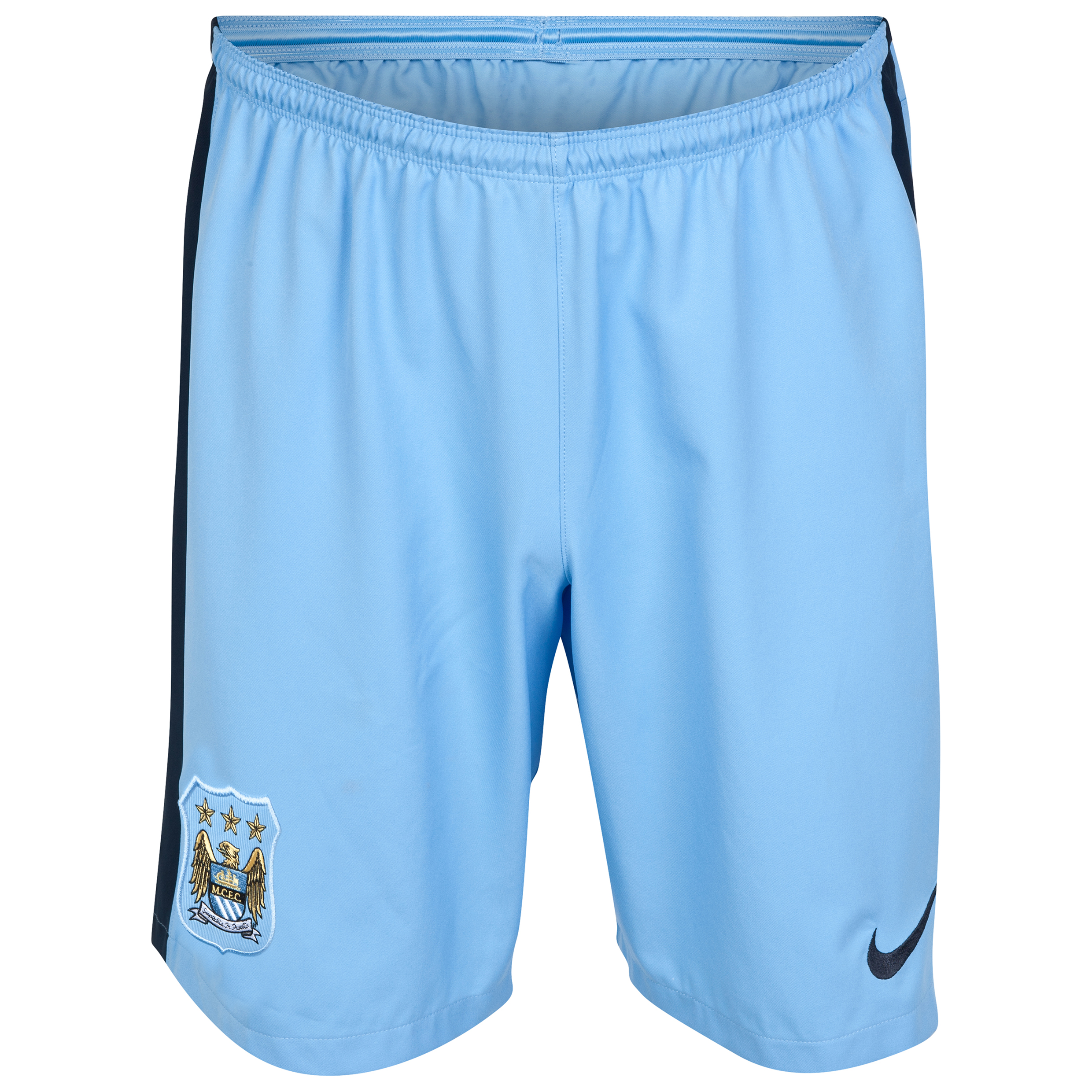 Manchester City Home Shorts 2014/15 Sky Blue