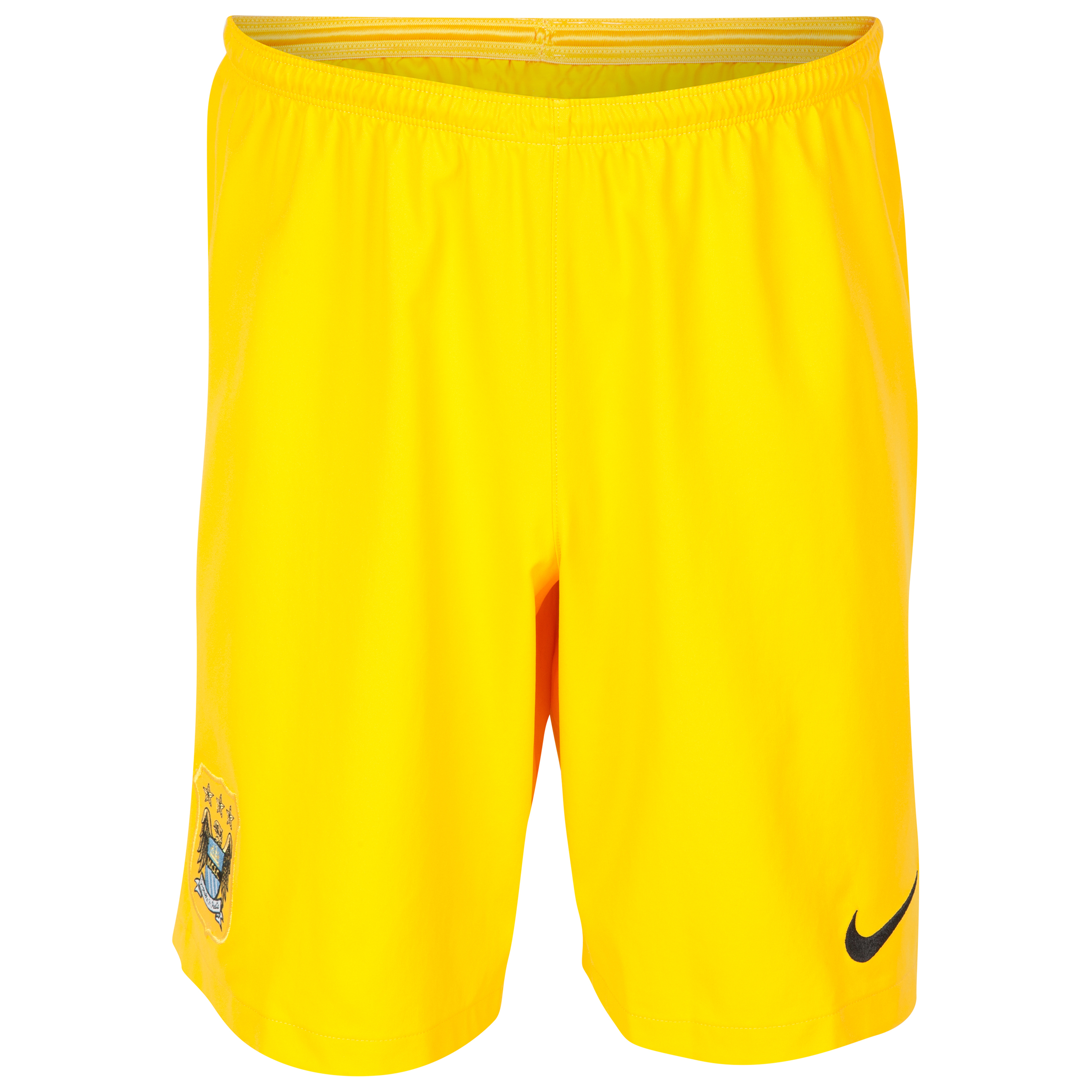 Manchester City Change Goalkeeper Shorts 2014/15 Gold