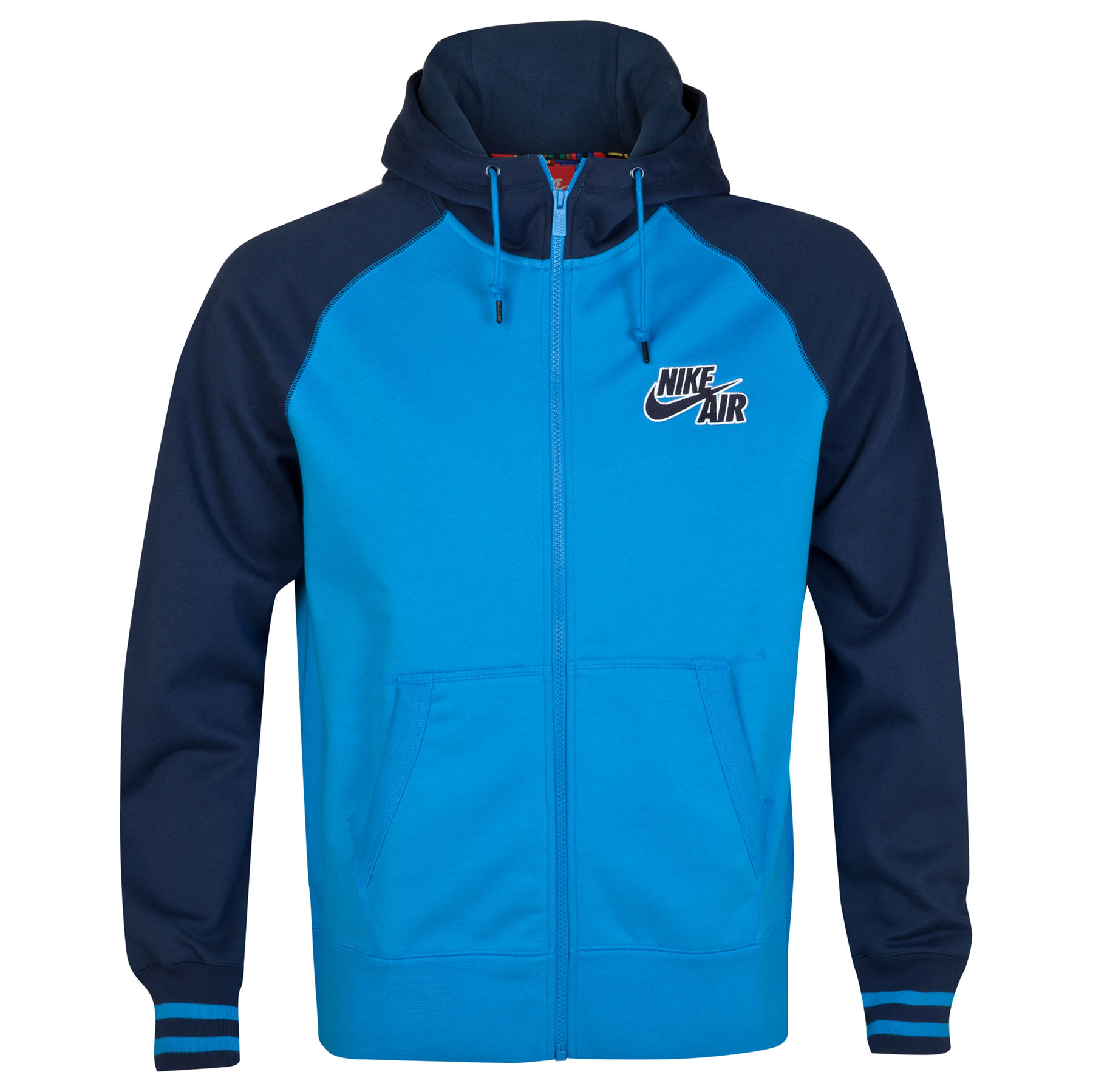 Manchester City AW77 Tech Full Zip Hoody Navy