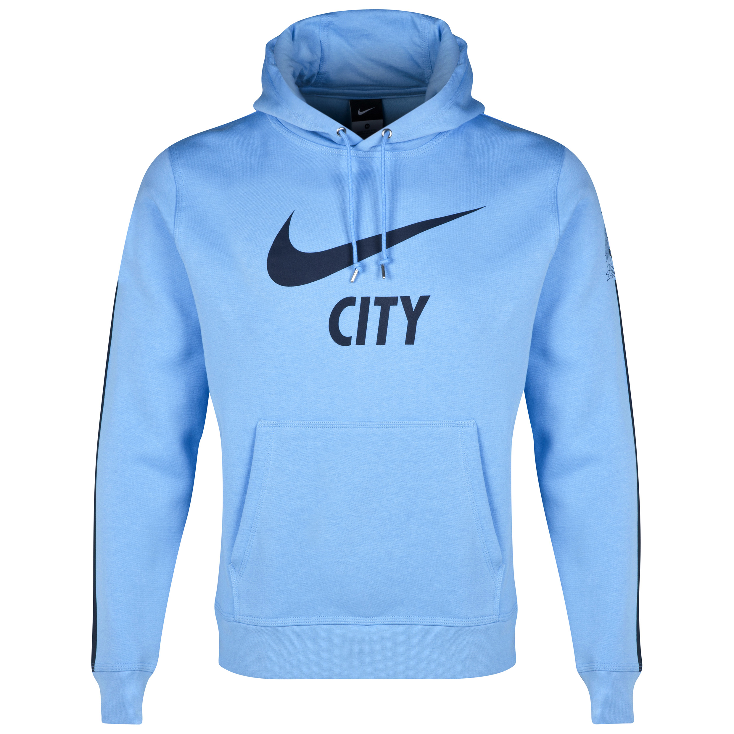 Manchester City Core Hoody Blue
