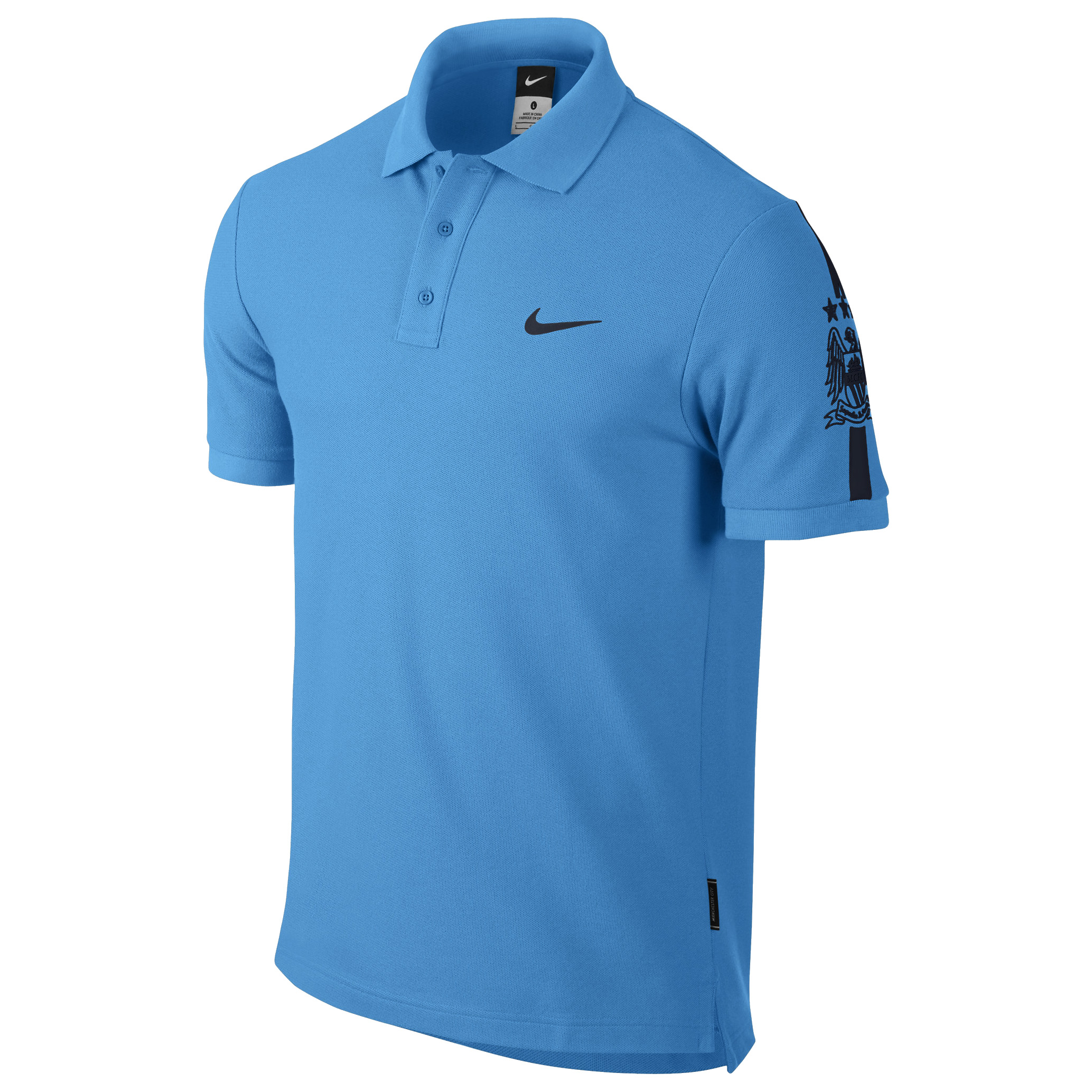 Manchester City Core Match Up Polo Blue