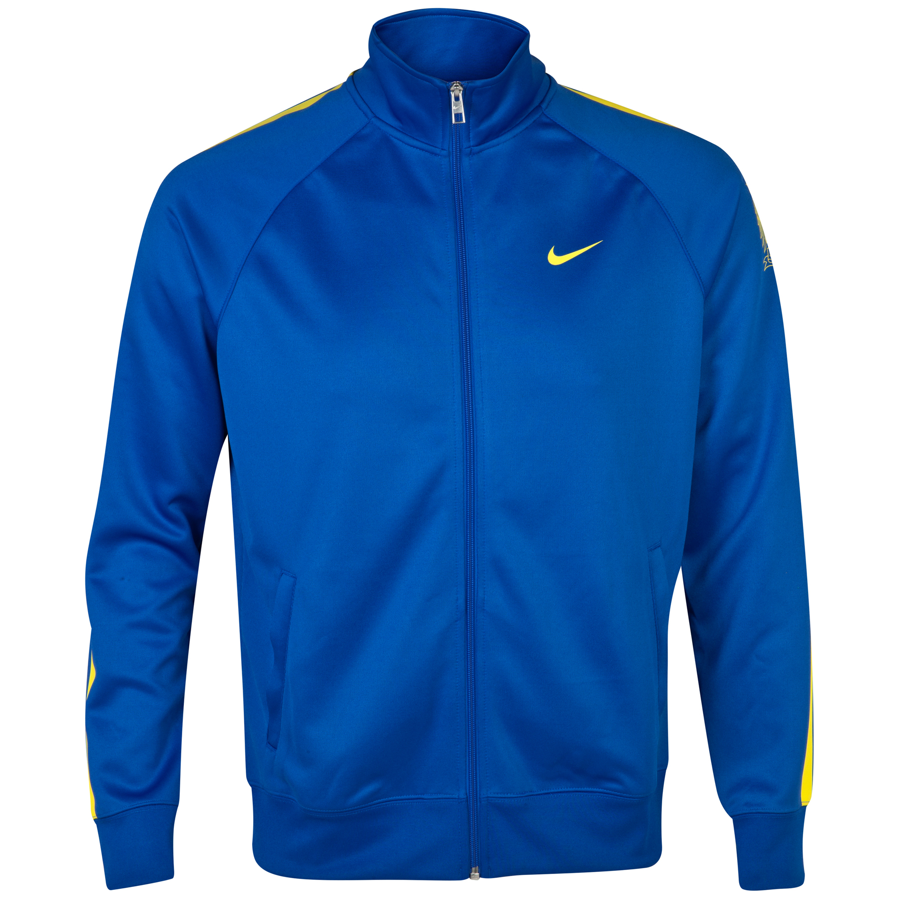 Manchester City Core Trainer Jacket Royal Blue