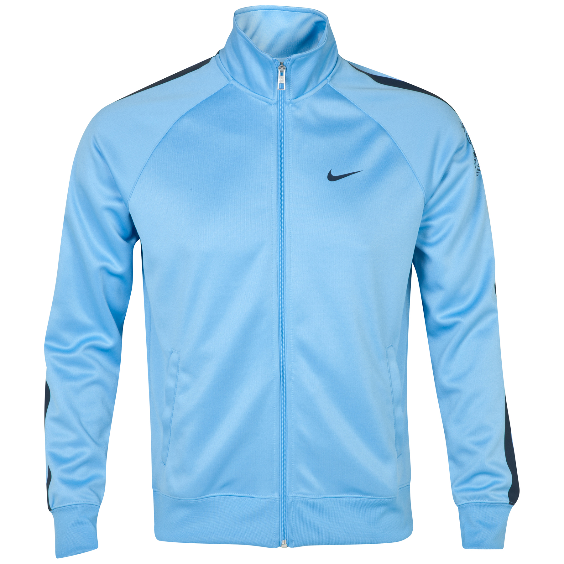 Manchester City Core Trainer Jacket Blue