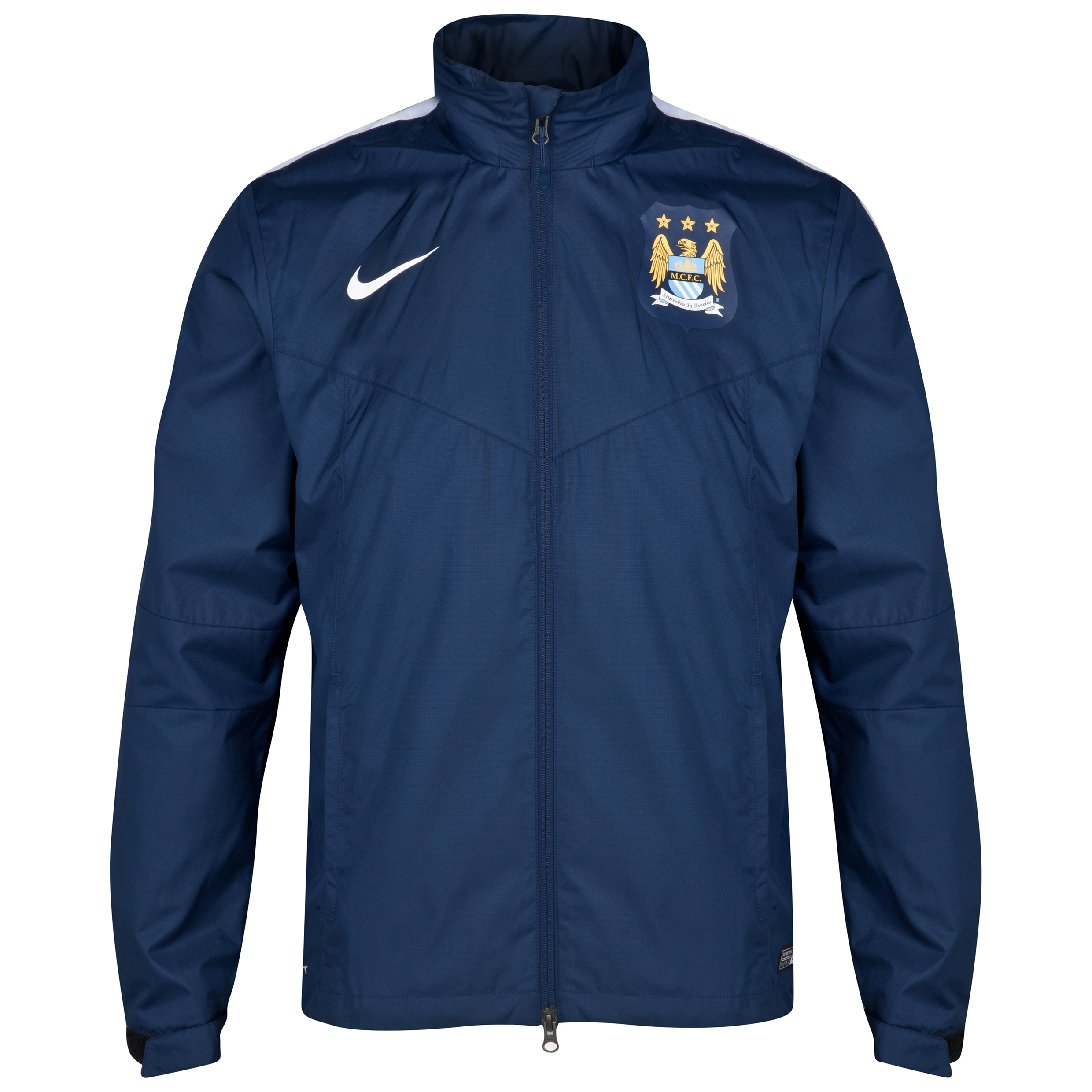 Manchester City Squad Rain Jacket Navy