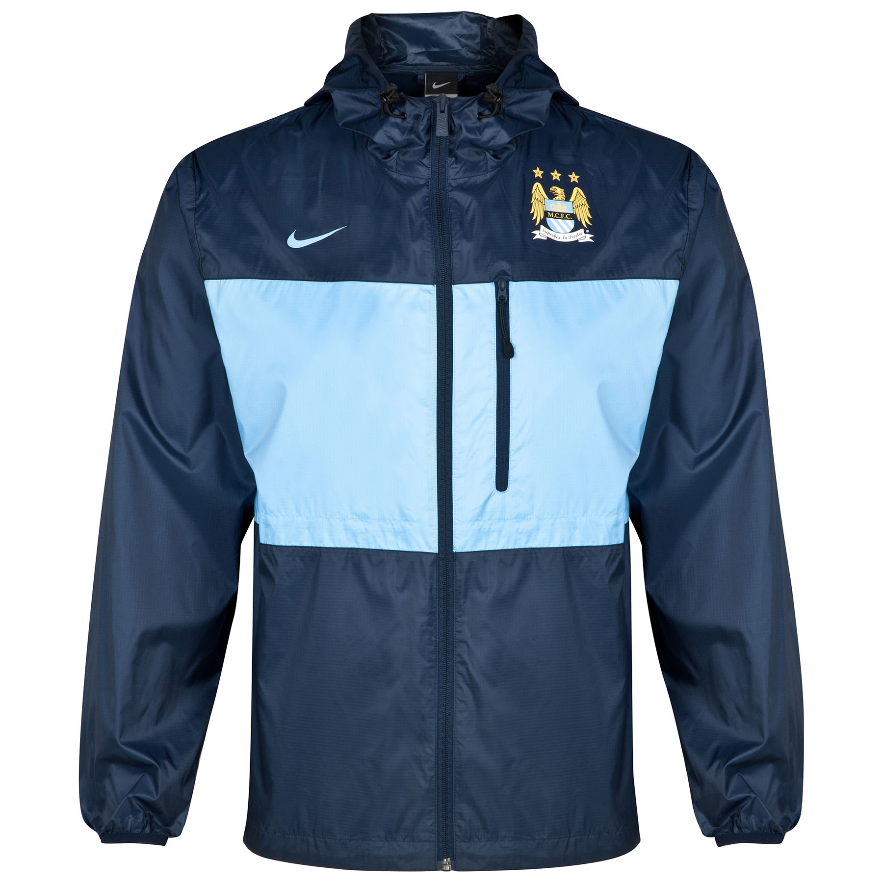 Manchester City Authentic Winger Jacket Dk Blue