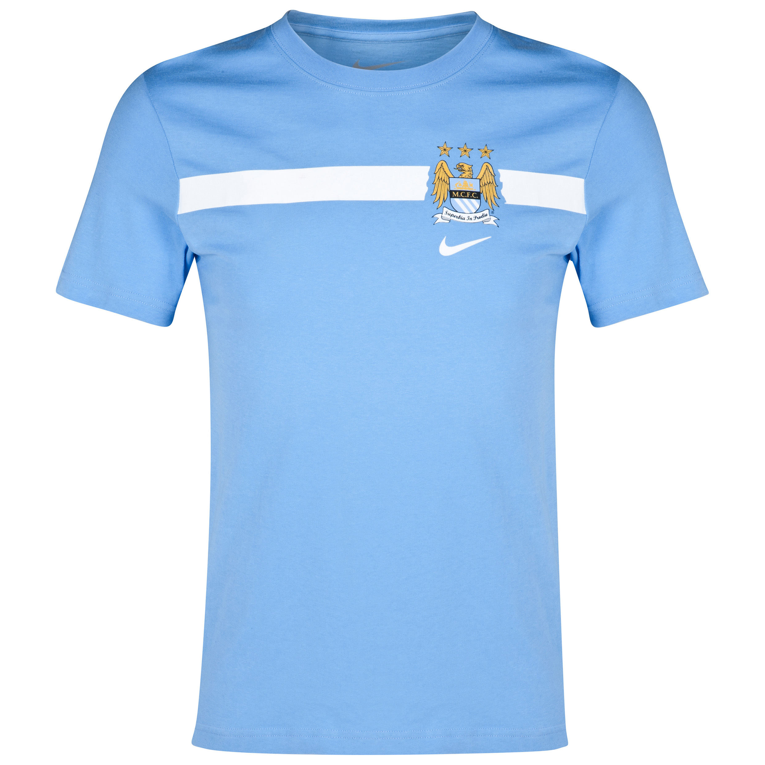 Manchester City Core T-Shirt Blue