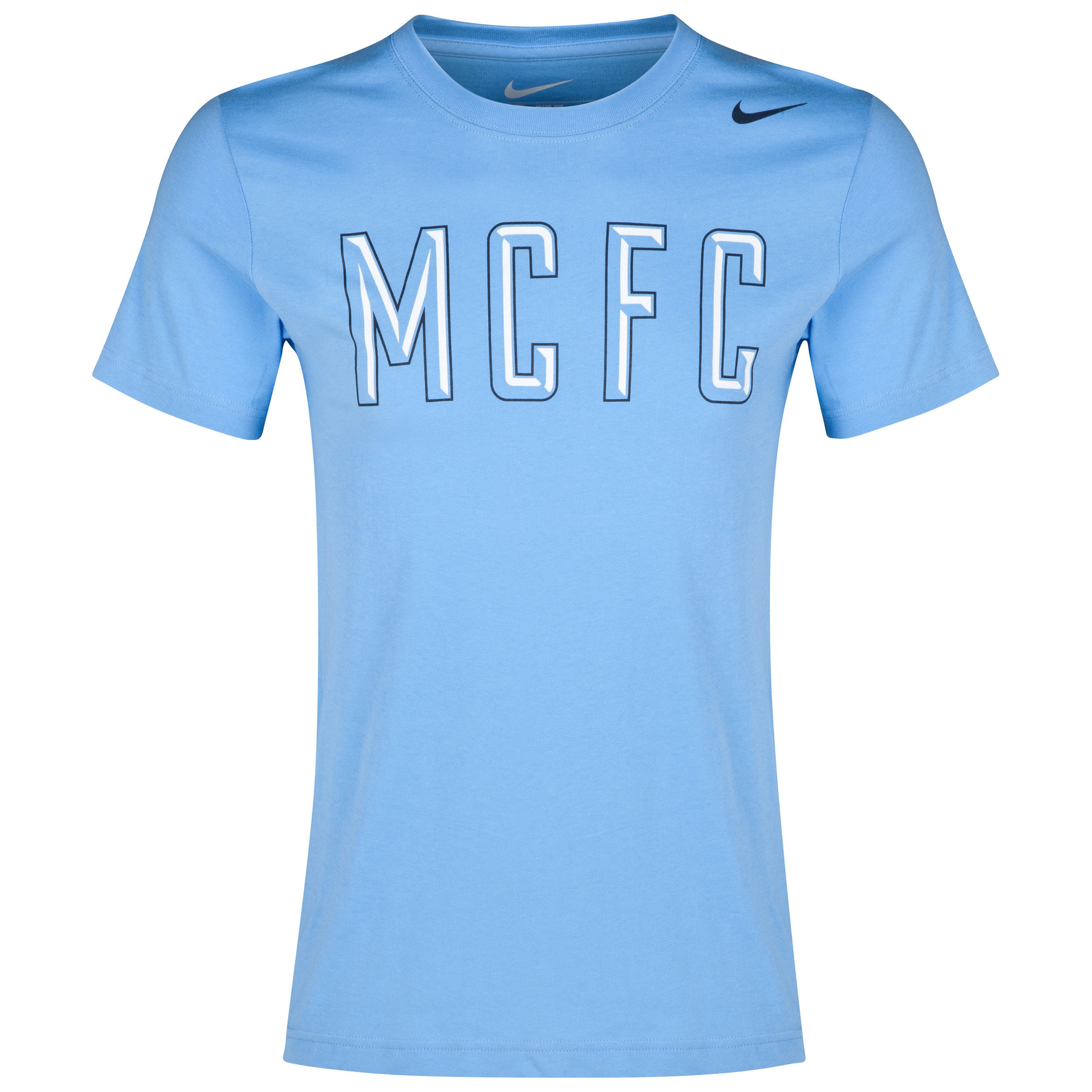 Manchester City Core Plus T-Shirt Blue