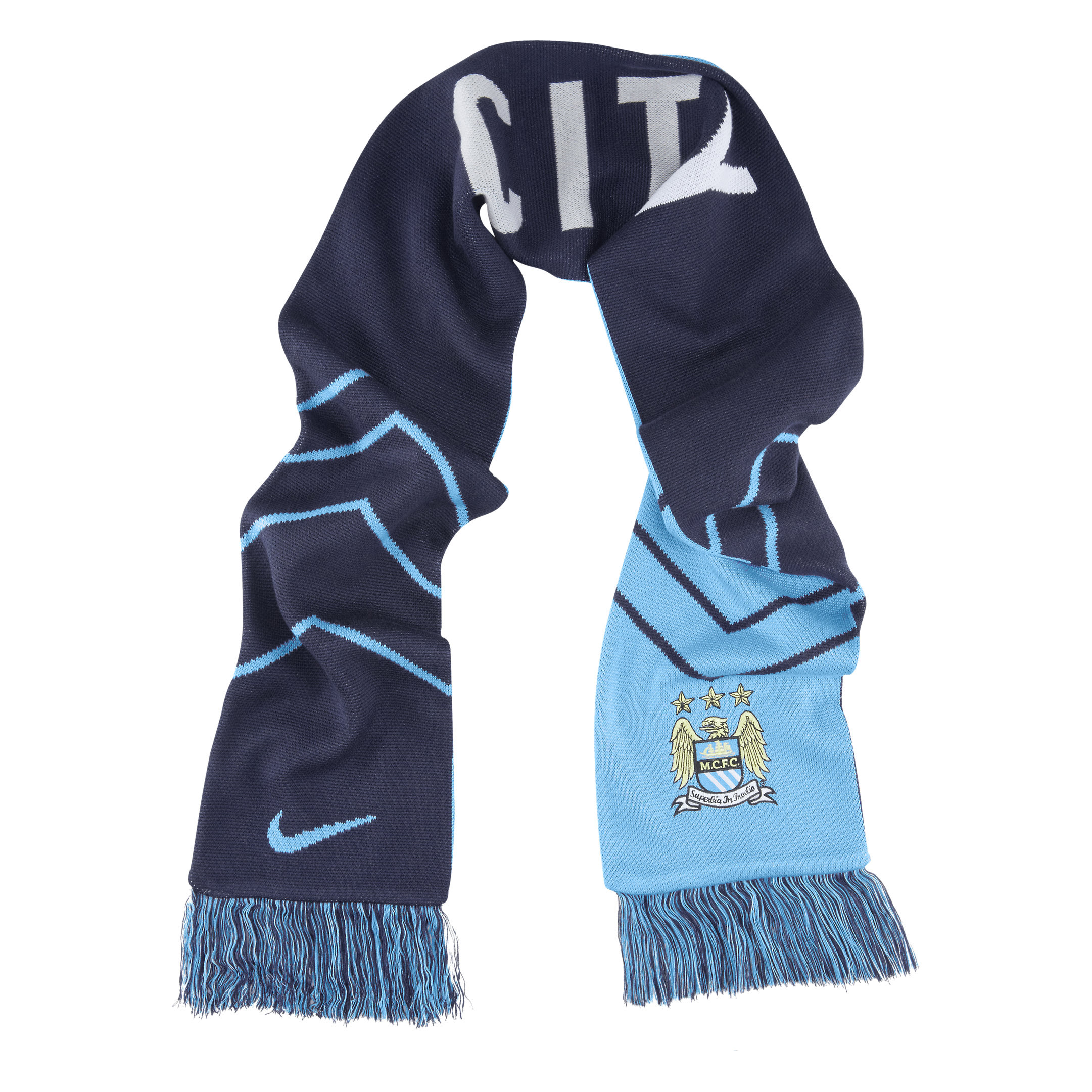 Manchester City Supporters Scarf Blue